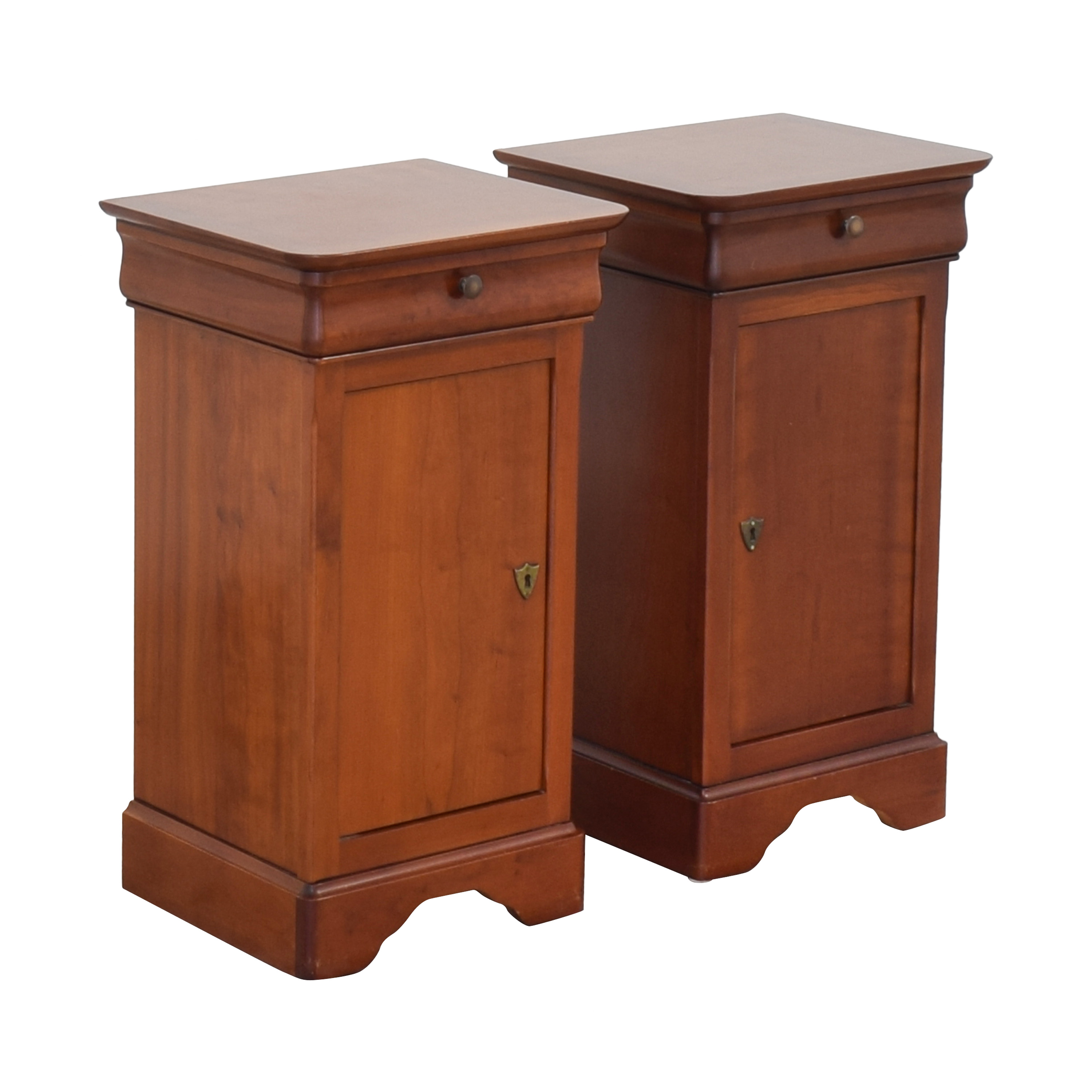 shop Grange Louis Philippe Style Cherry Night Stands Grange Tables