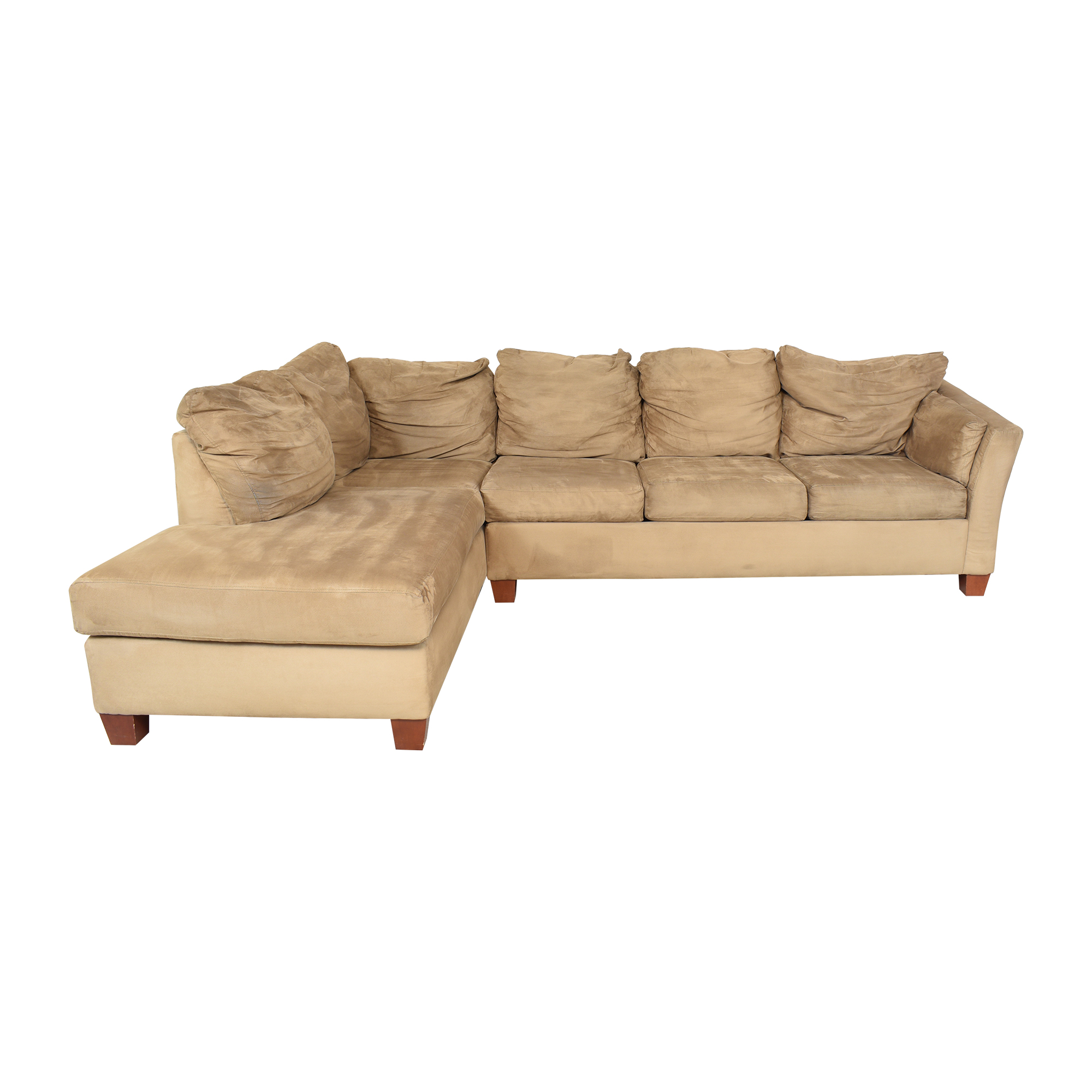 Raymour & Flanigan Raymour & Flanigan Chaise Sectional Couch