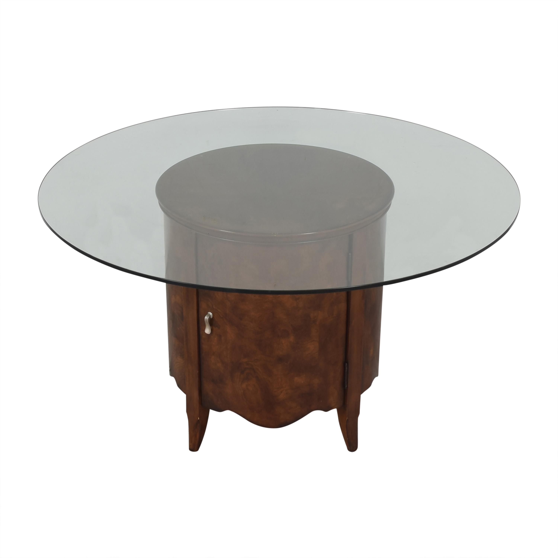 buy Raymour & Flanigan Round Dining Table Raymour & Flanigan