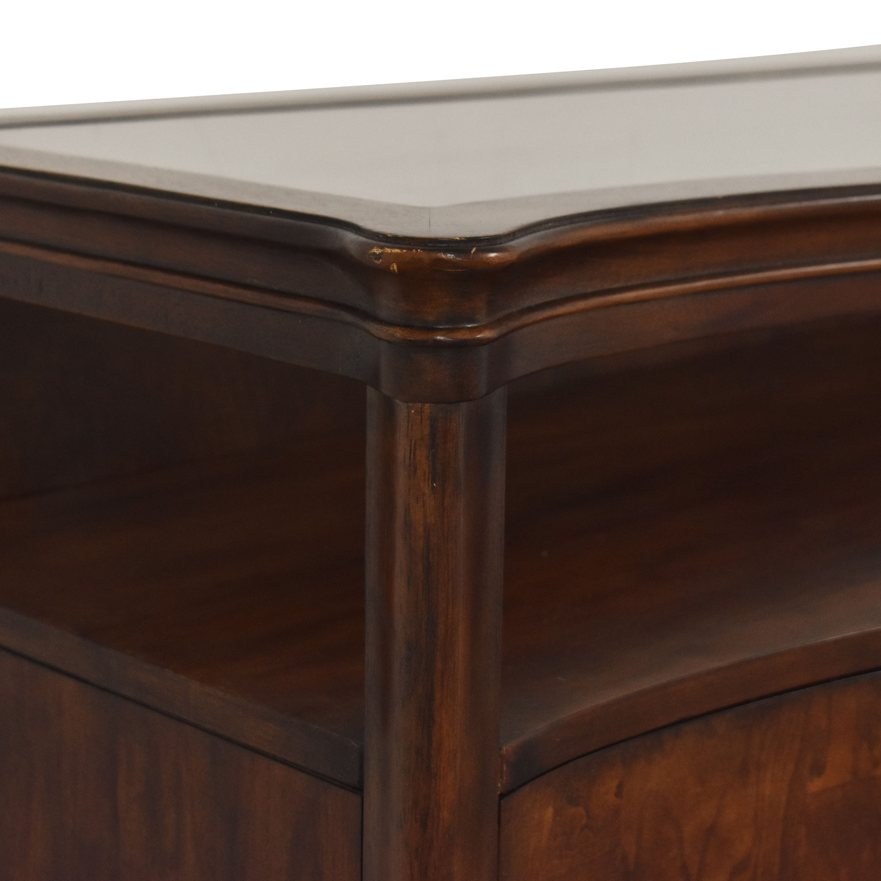 shop Raymour & Flanigan Credenza Raymour & Flanigan Accent Tables