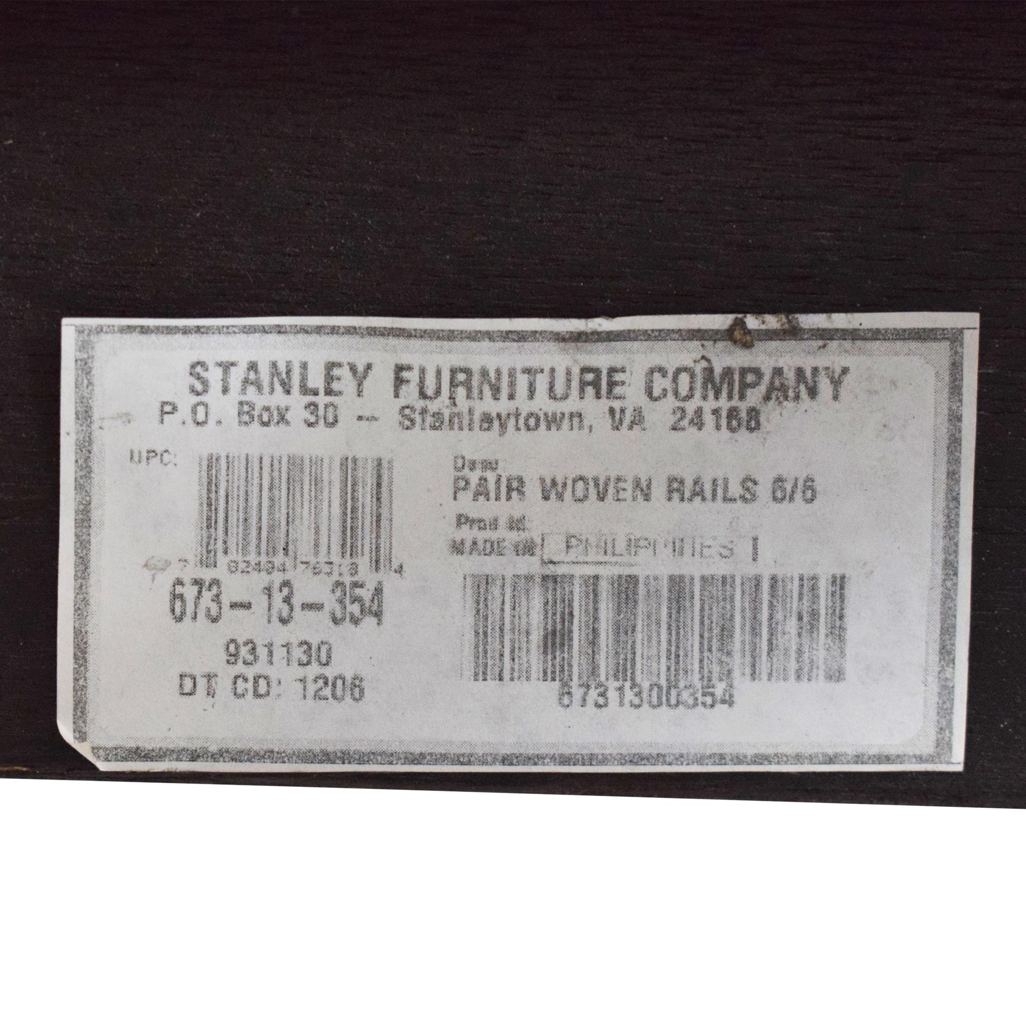 buy Stanley Woven King Bed Stanley Furniture Bed Frames