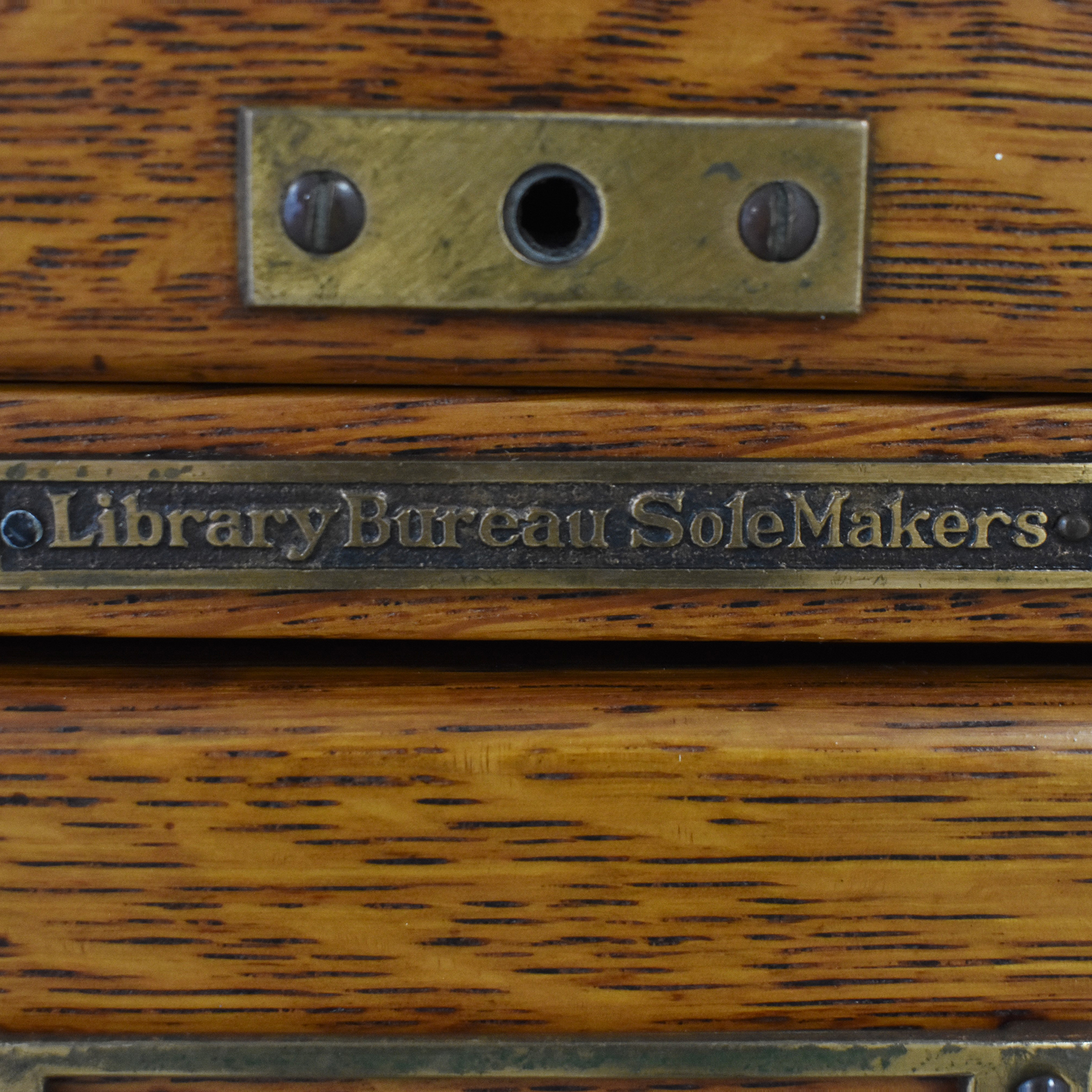 Library Bureau Sole Makers Library Bureau Sole Makers File Cabinet on sale