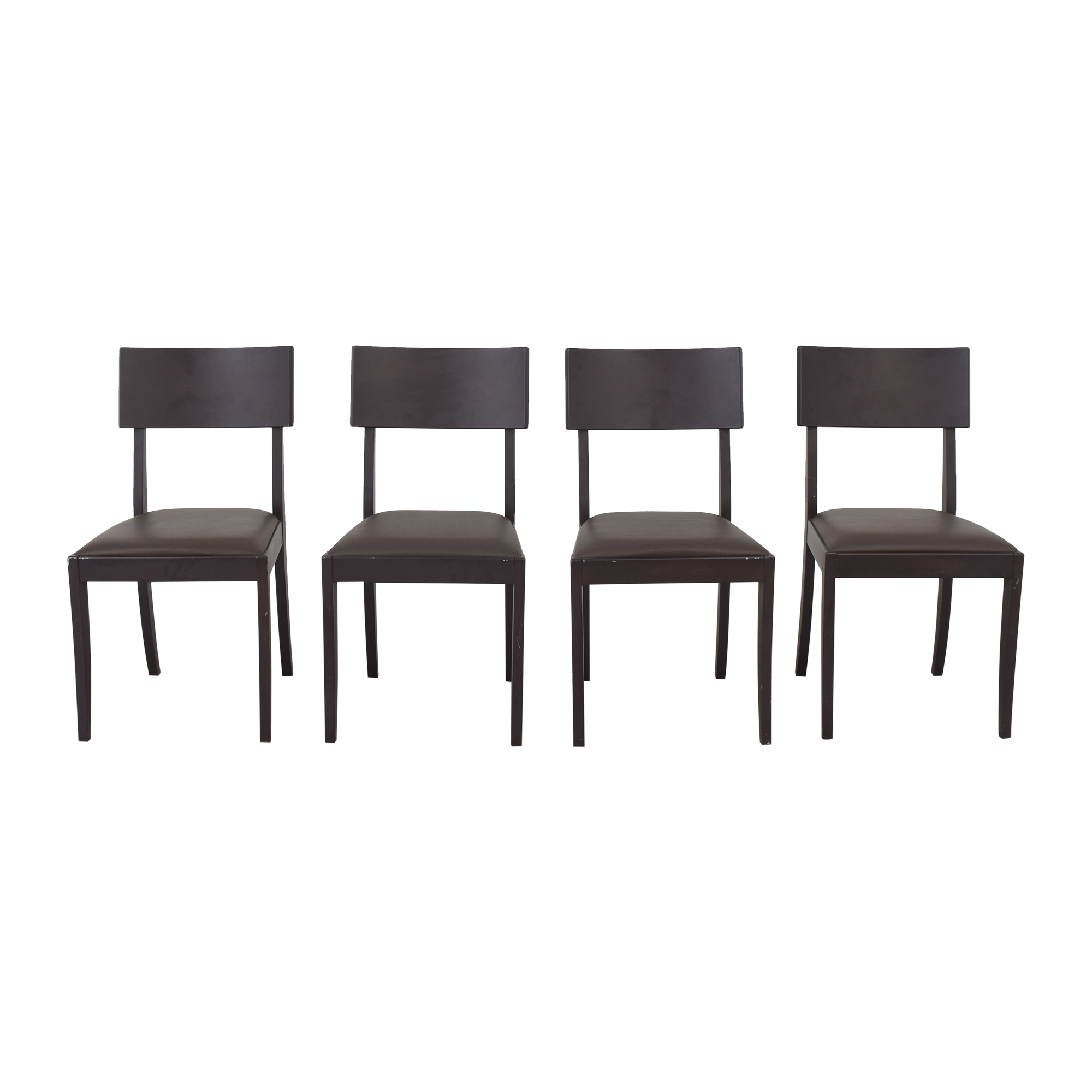 Crate & Barrel Crate & Barrel Dining Chairs pa