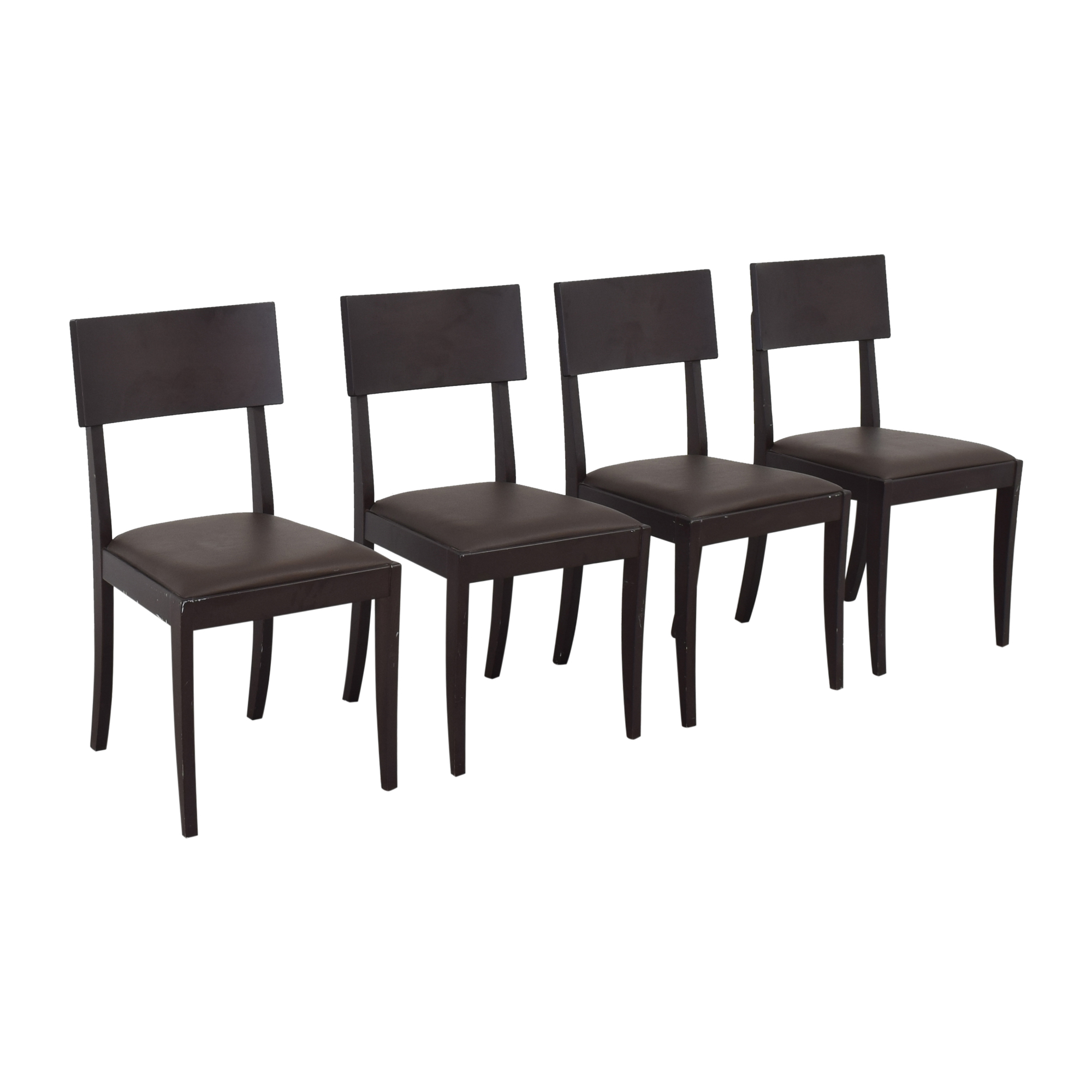 Crate & Barrel Dining Chairs Crate & Barrel