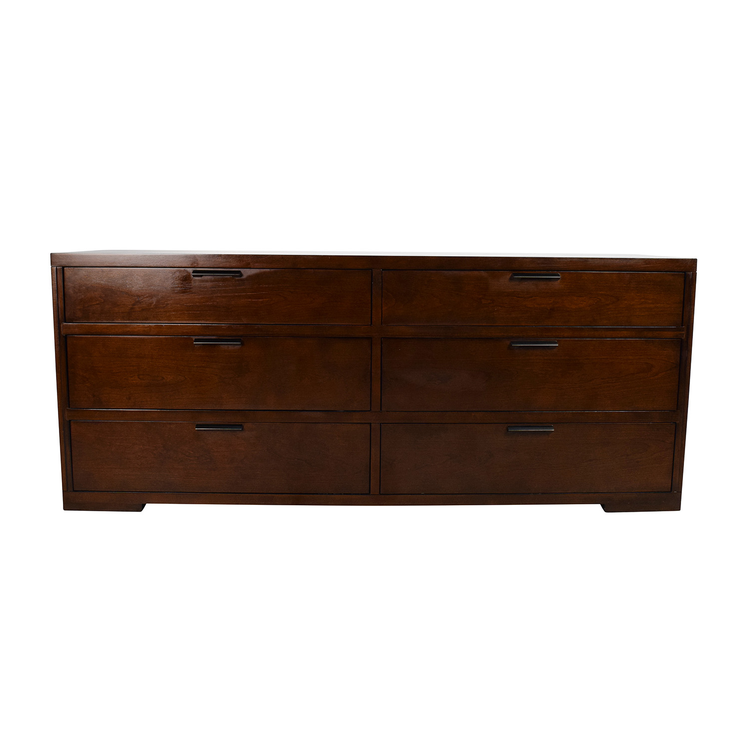 buy Crate & Barrel Asher 6-Drawer Dresser Crate and Barrel Dressers