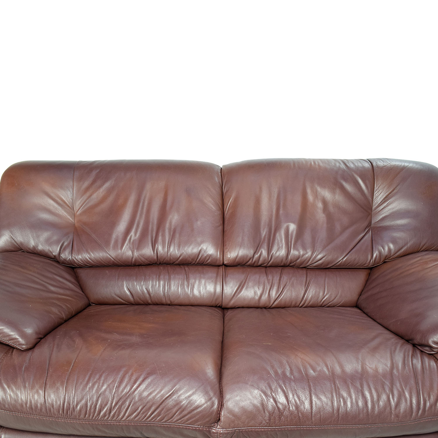 Exceptionnel ... Maurice Villency Maurice Villency Brown Leather Sofa Nj