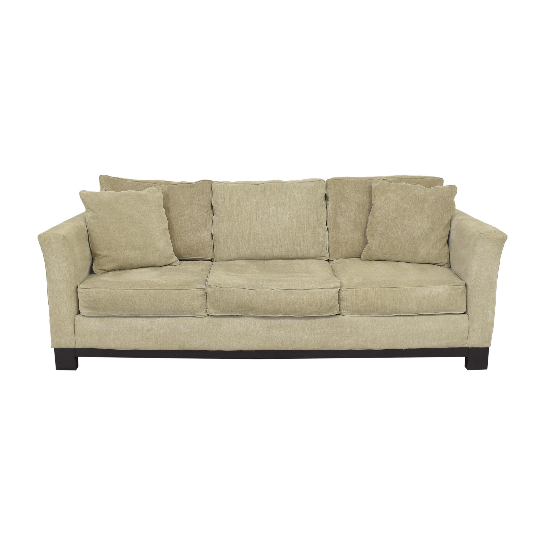 buy Macy's Three Cushion Sofa Macy's