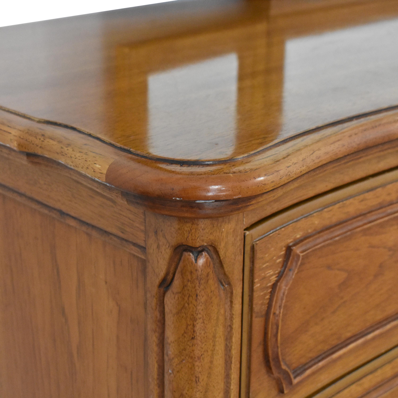 buy Thomasville Dresser with Trifold Mirror Thomasville Dressers