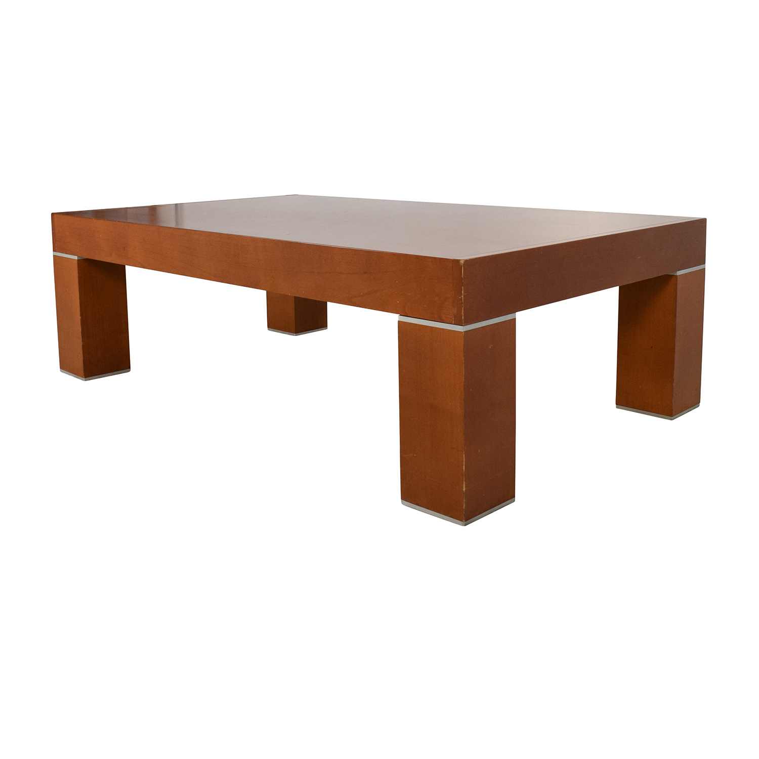 86 off roche bobois paris roche bobois paris wood for Coffee tables zara home