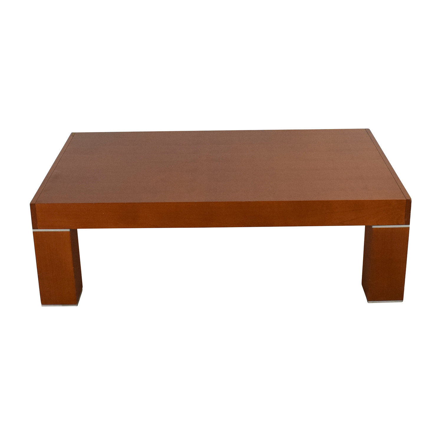 OFF Roche Bobois Paris Roche Bobois Paris Wood Coffee Table