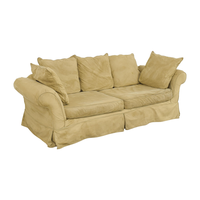buy Pottery Barn PB Comfort Roll Arm Slipcovered Grand Sofa online