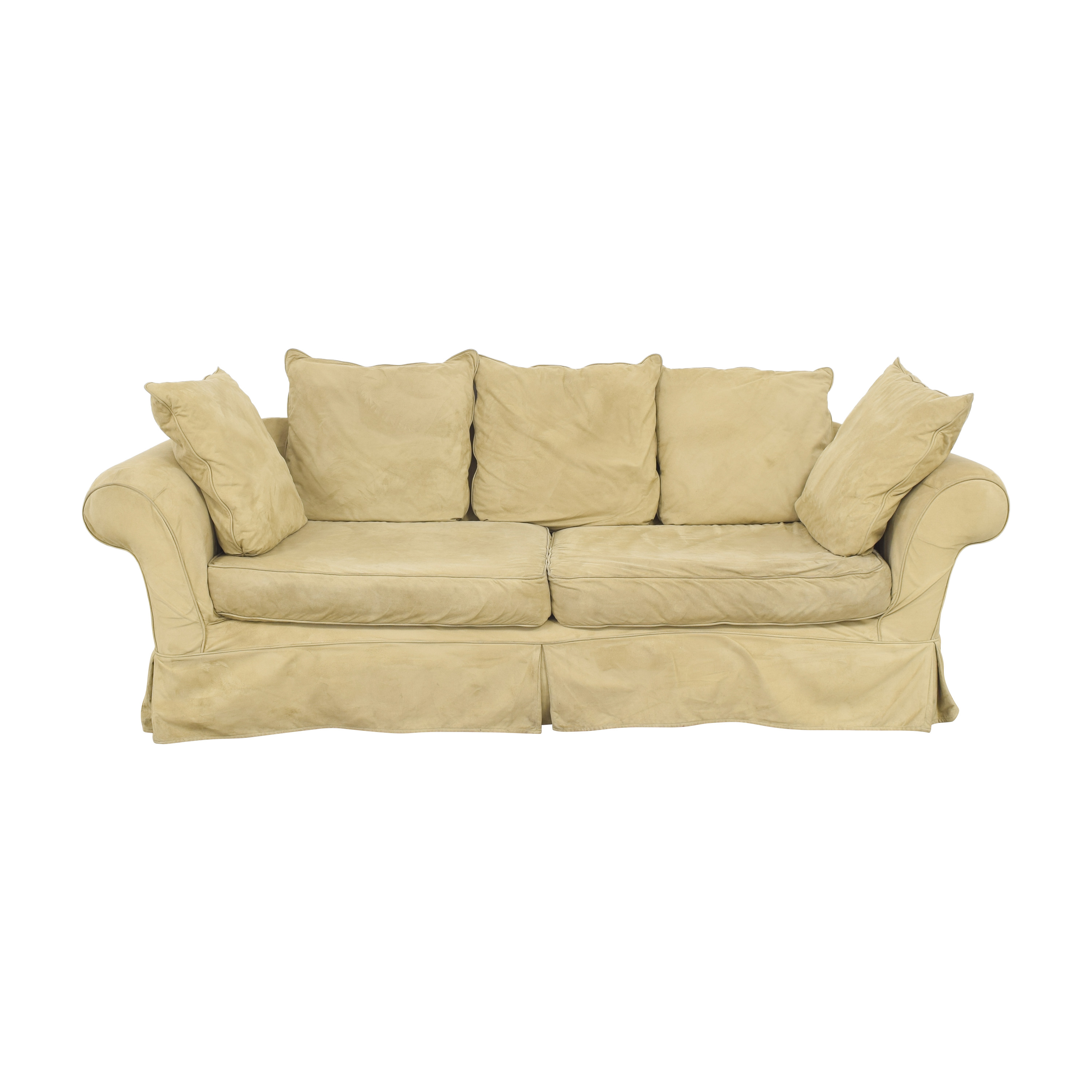buy PB Comfort Roll Arm Slipcovered Grand Sofa Pottery Barn Classic Sofas