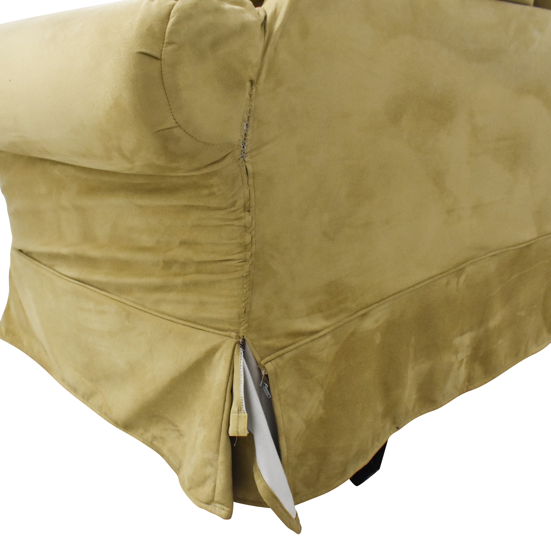 buy PB Comfort Roll Arm Slipcovered Grand Sofa Pottery Barn