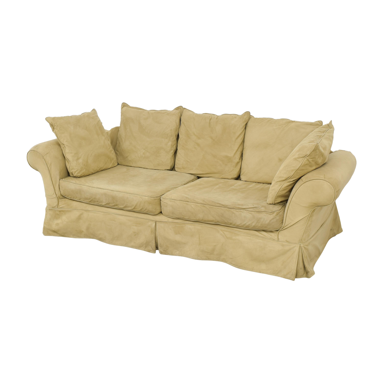 PB Comfort Roll Arm Slipcovered Grand Sofa / Sofas