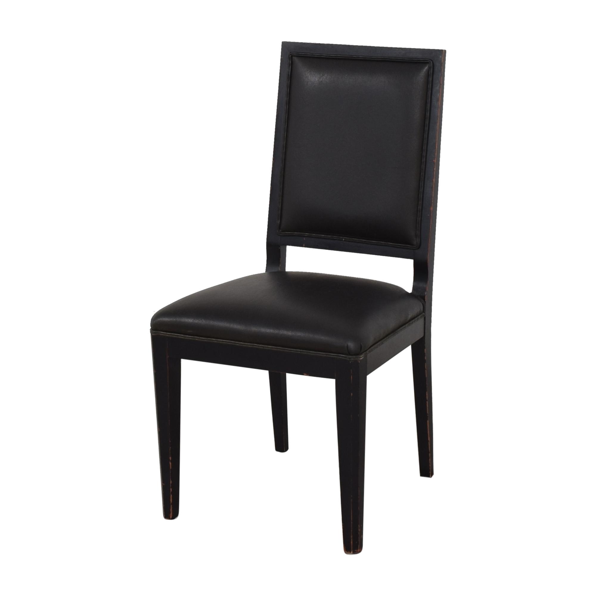 Crate & Barrel Crate & Barrel Sonata Dining Chairs black