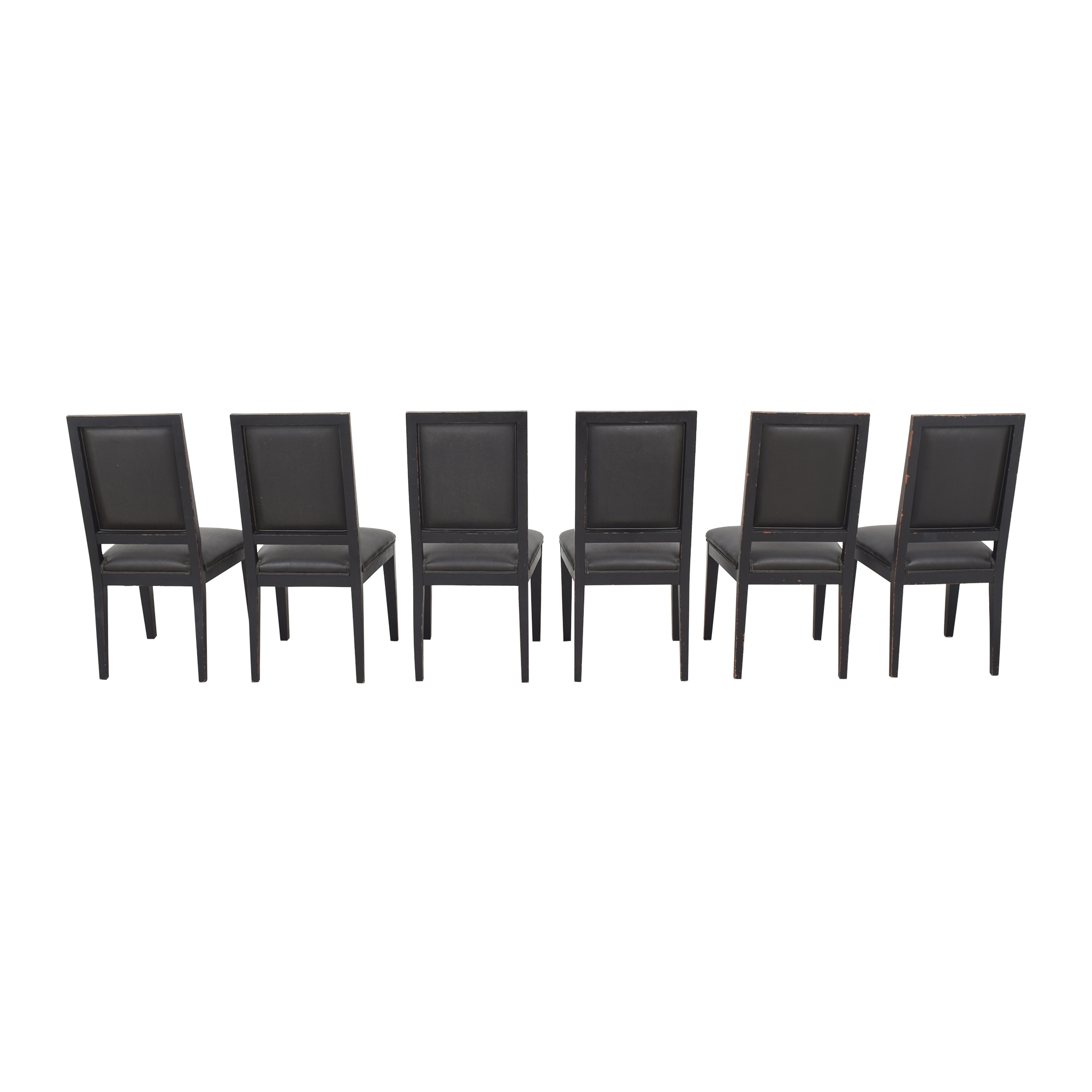 Crate & Barrel Crate & Barrel Sonata Dining Chairs second hand
