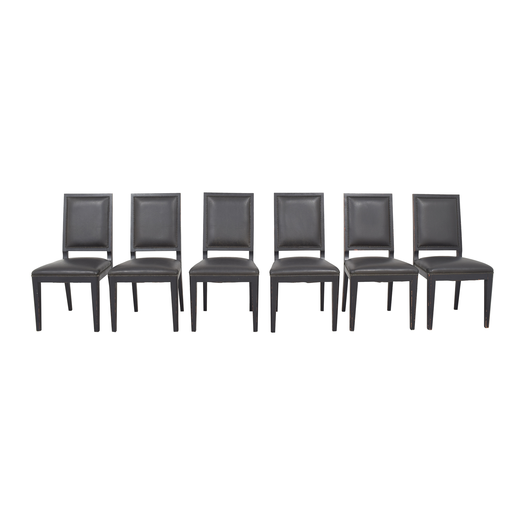 Crate & Barrel Crate & Barrel Sonata Dining Chairs used
