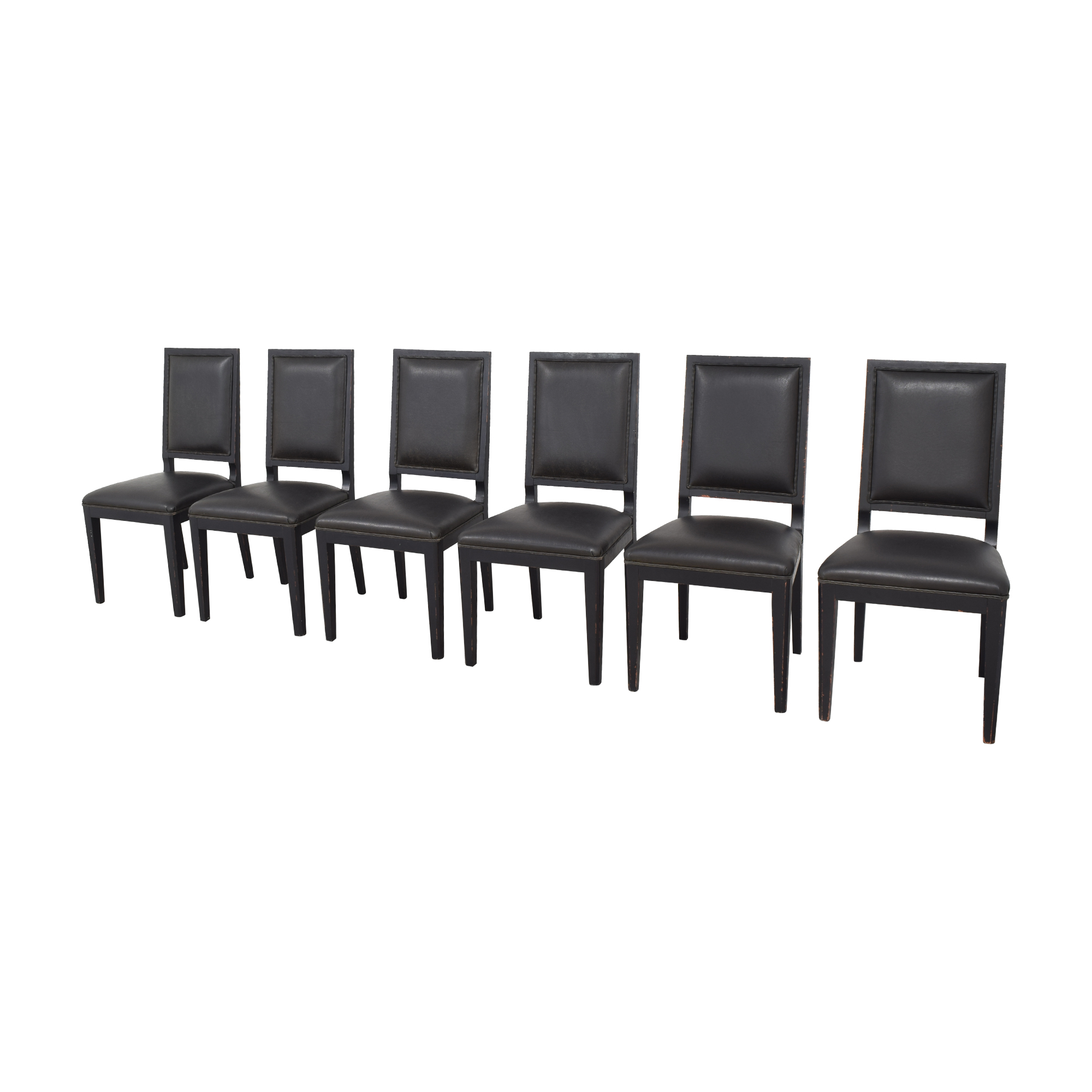 shop Crate & Barrel Sonata Dining Chairs Crate & Barrel Chairs
