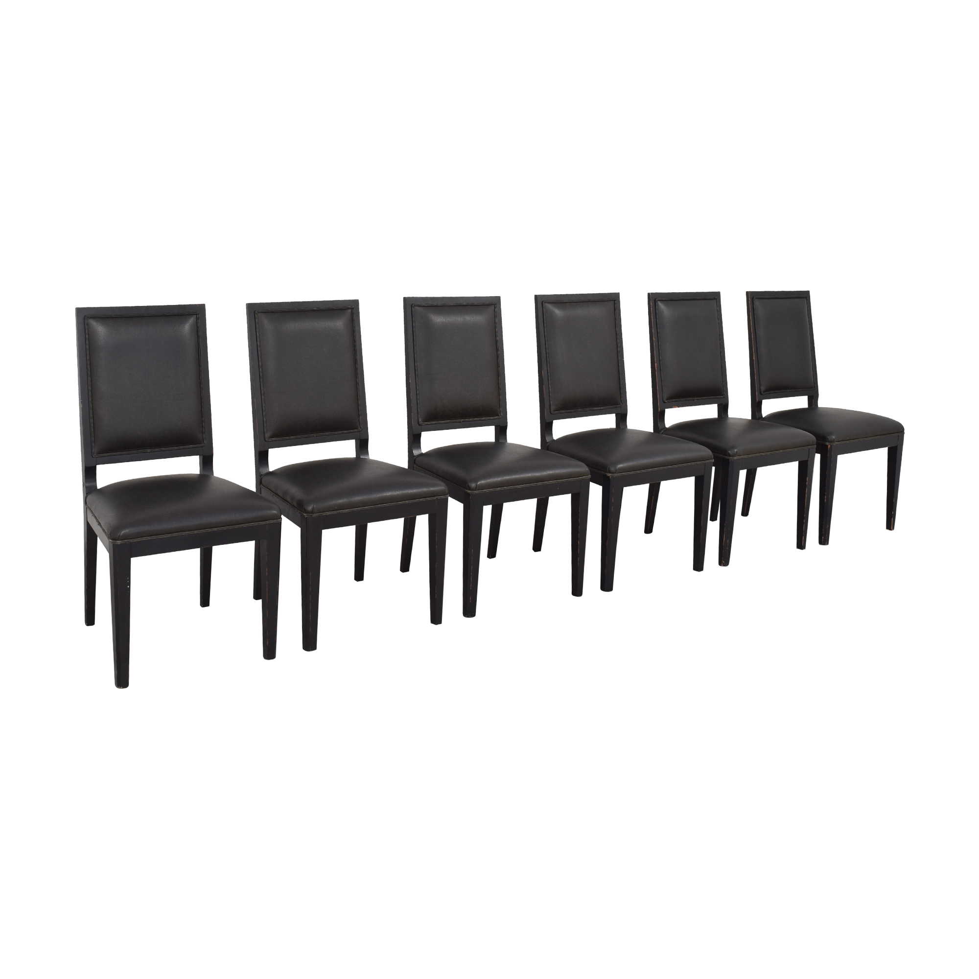 Crate & Barrel Sonata Dining Chairs Crate & Barrel