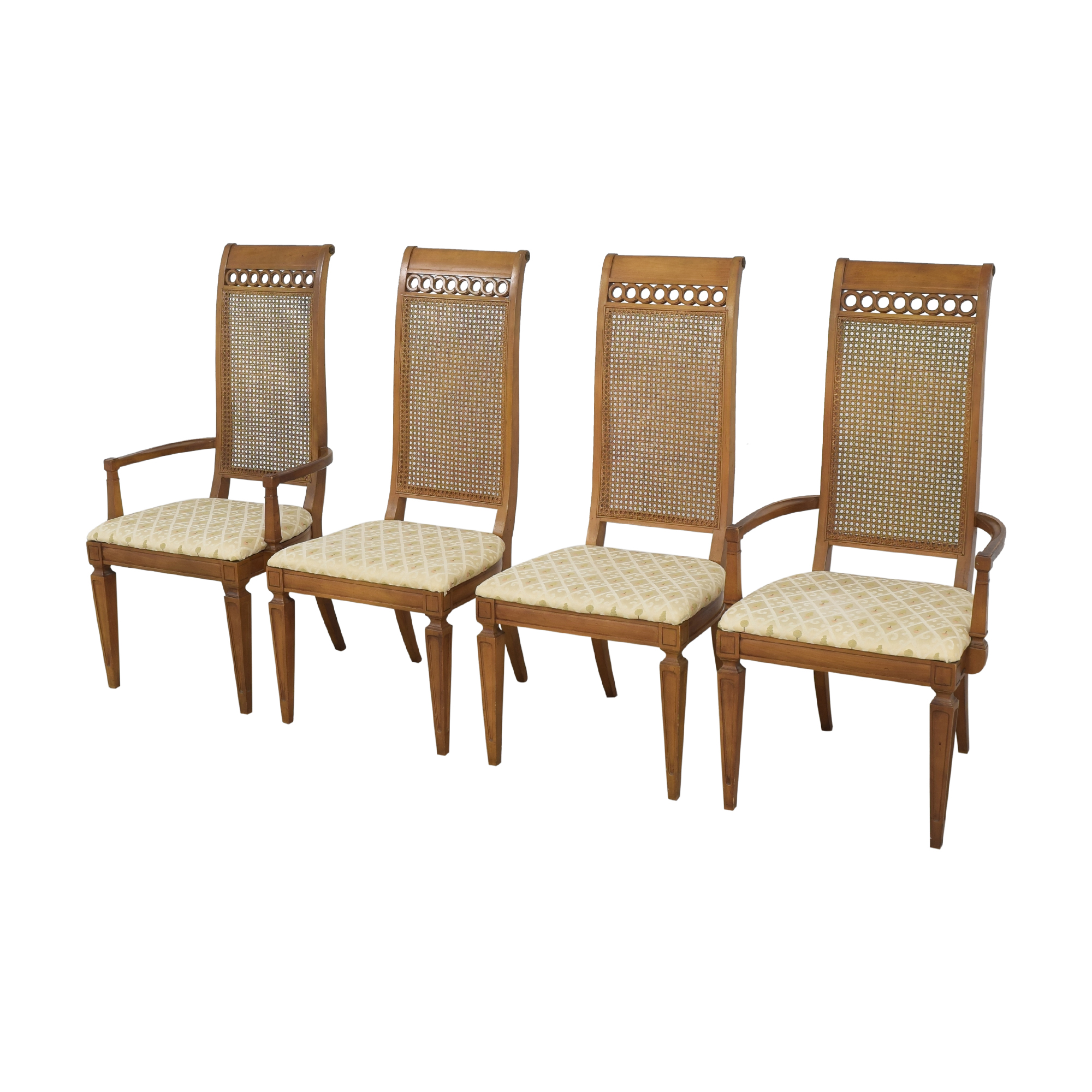 Thomasville Thomasville Bellini Collection Dining Chairs brown and beige