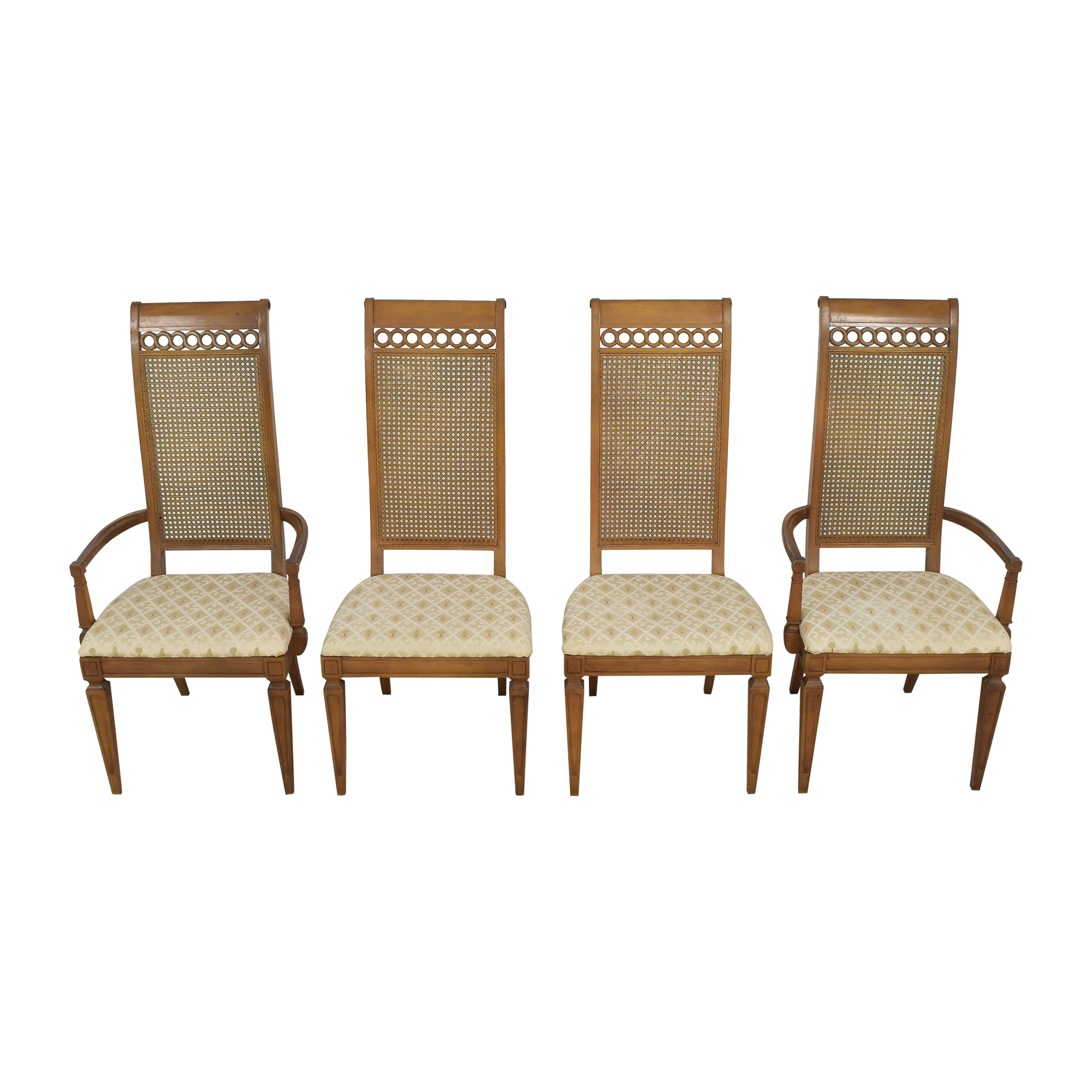 shop Thomasville Bellini Collection Dining Chairs Thomasville Dining Chairs