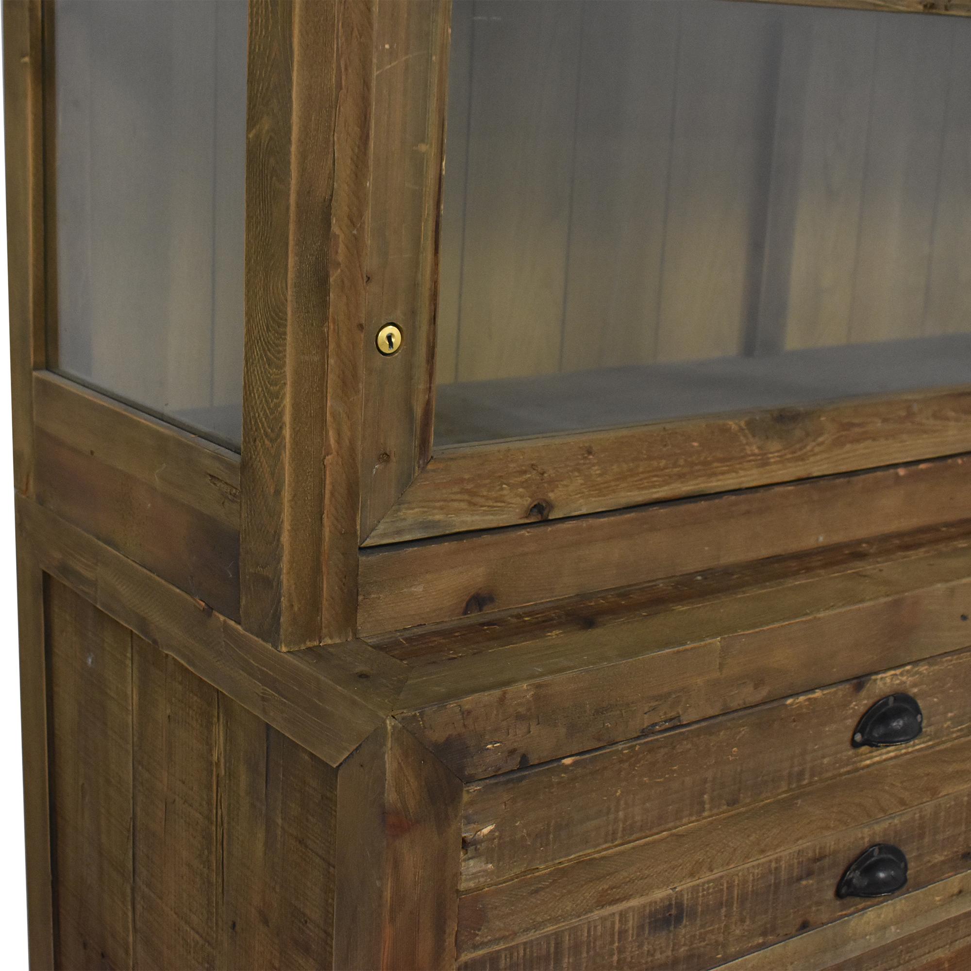 Restoration Hardware Printmaker's Sideboard and Hutch / Cabinets & Sideboards
