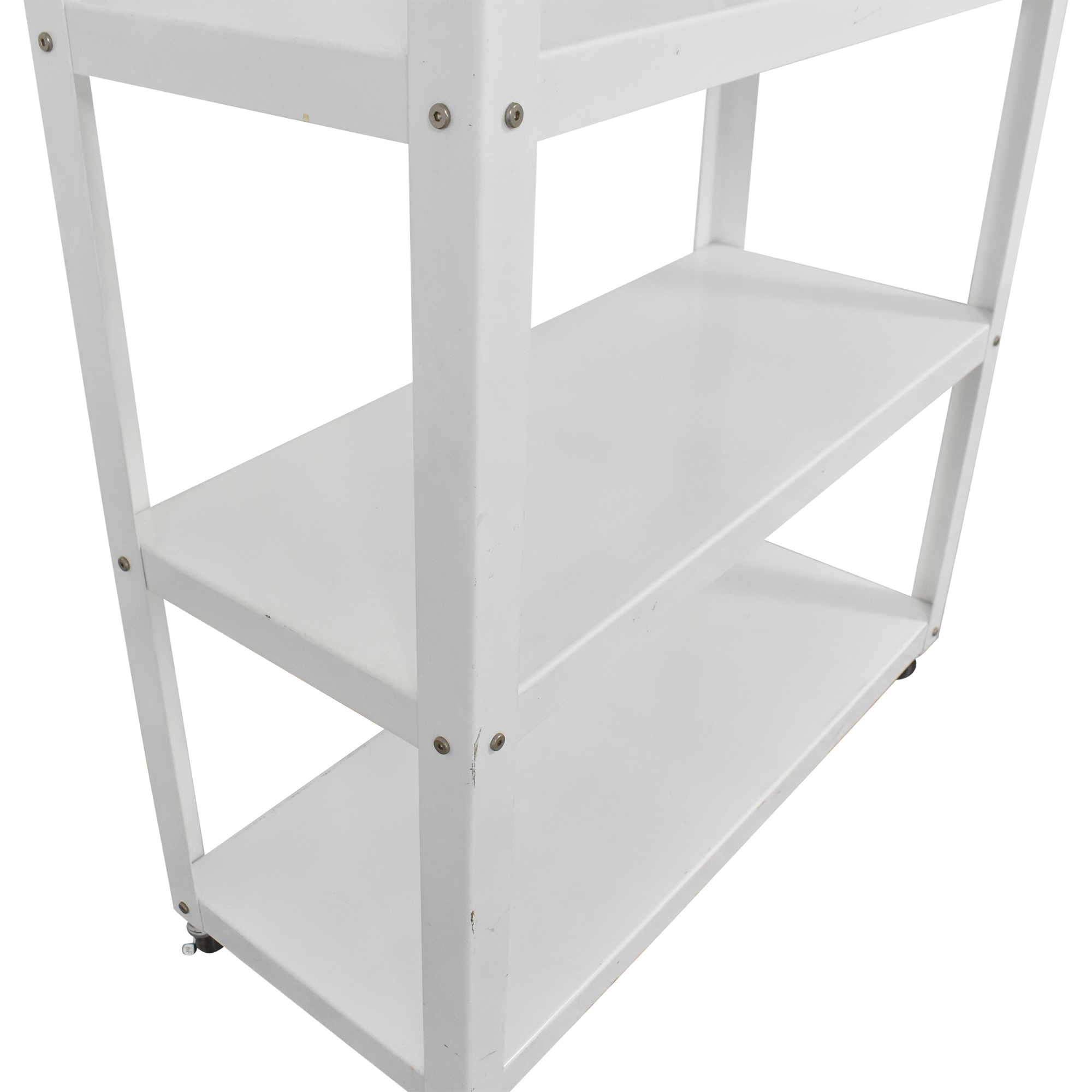 CB2 CB2 Go-Cart Rolling Bookcase for sale