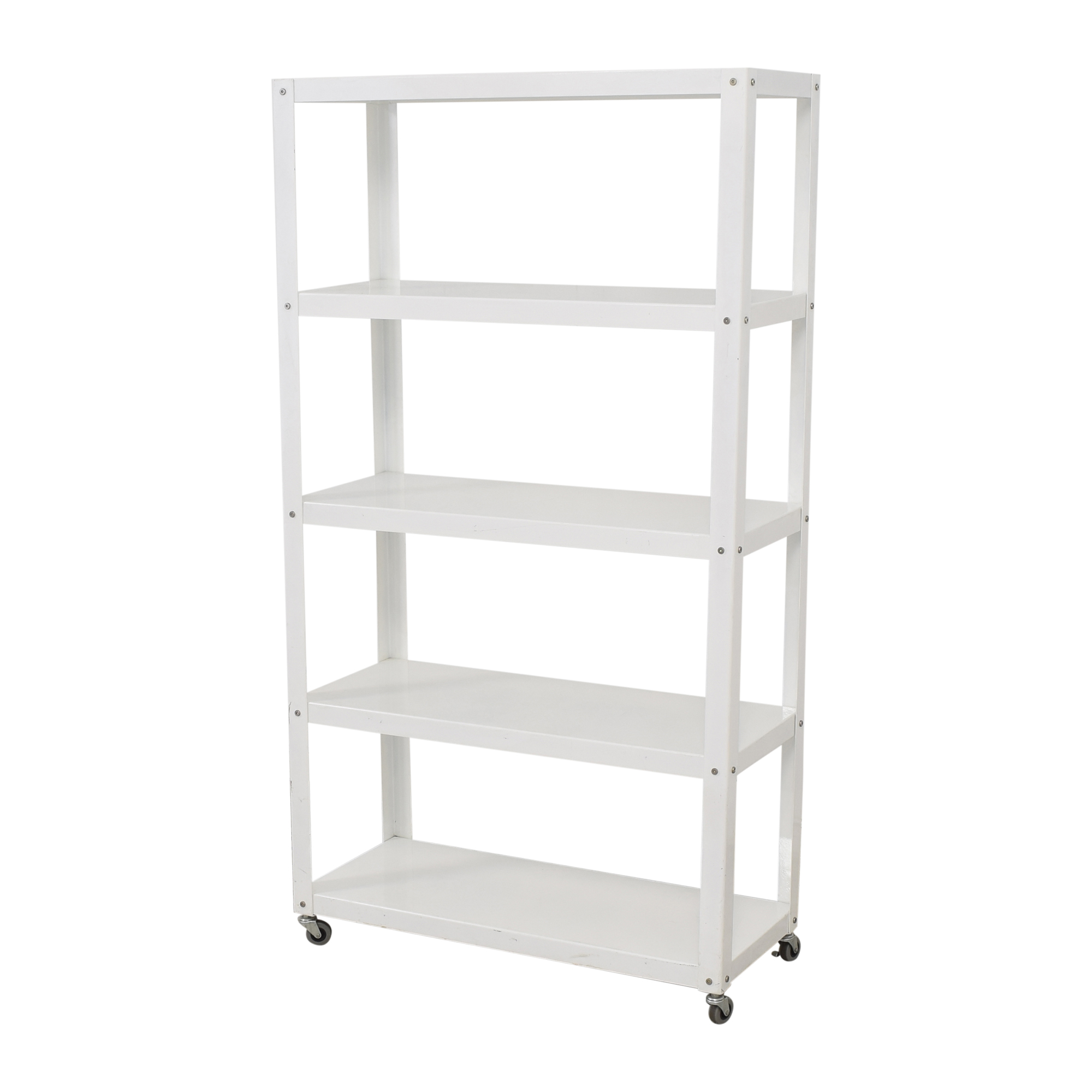 CB2 CB2 Go-Cart Rolling Bookcase used