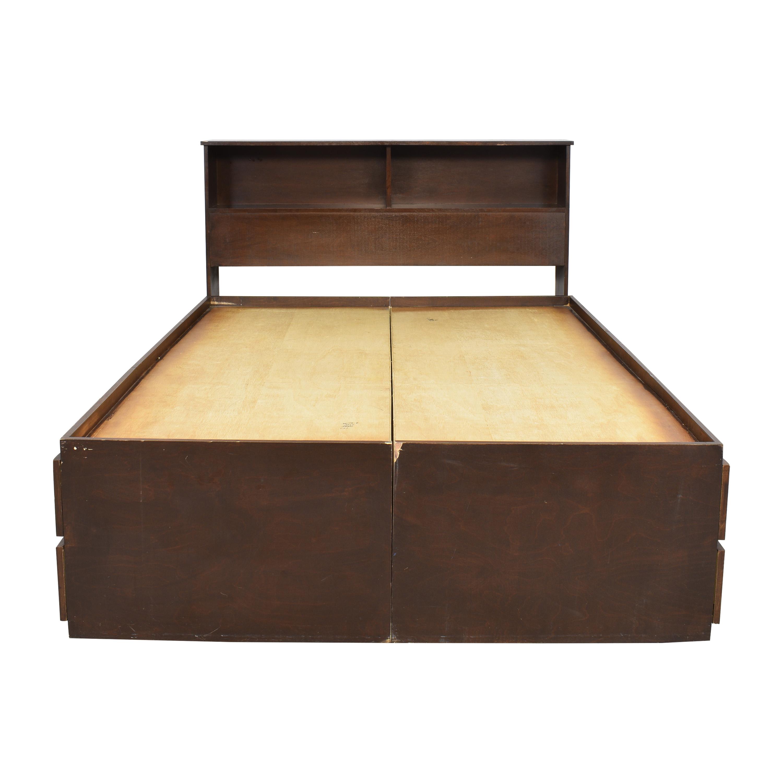 Gothic Cabinet Craft Gothic Cabinet Queen Storage Bed with Headboard price
