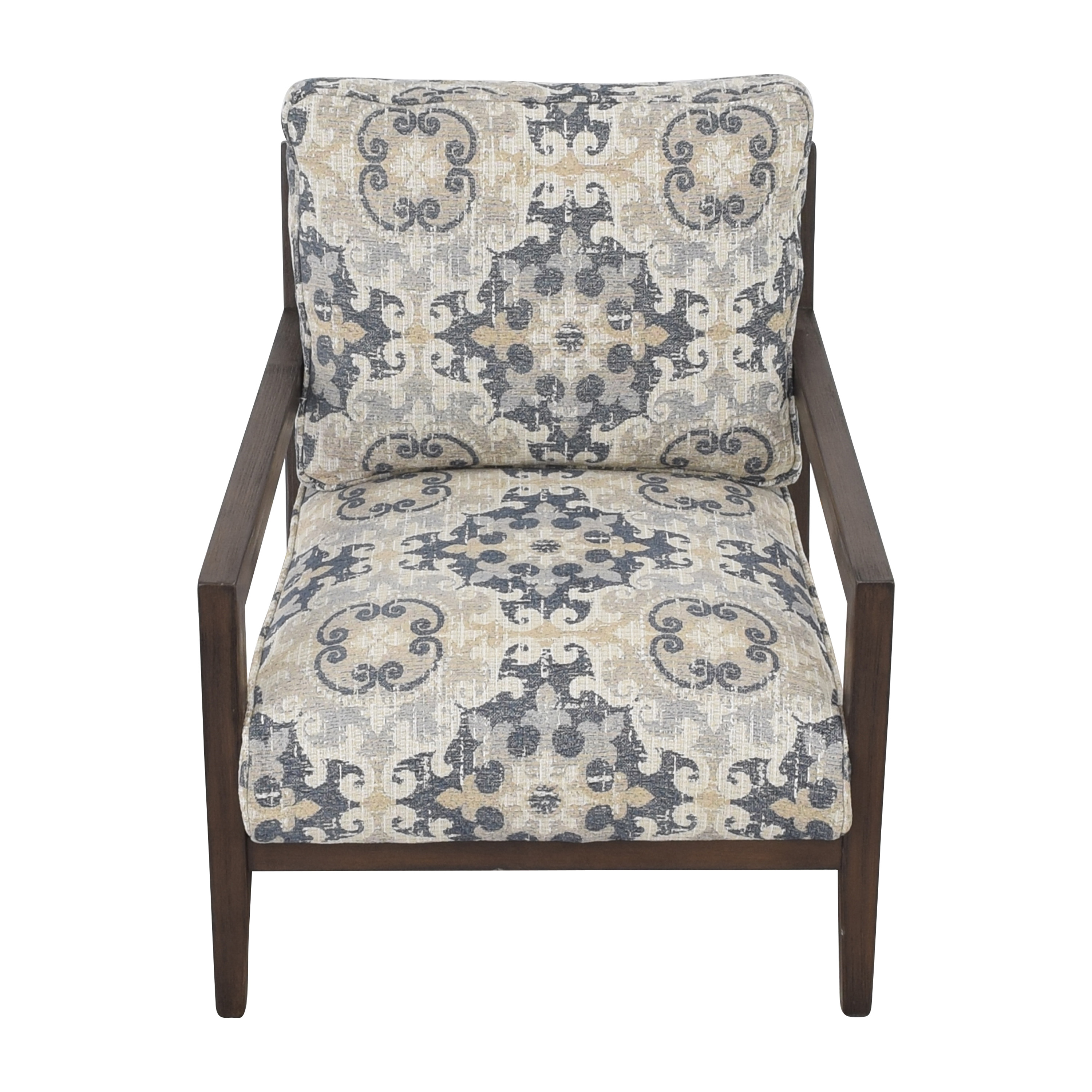 Raymour & Flanigan Raymour & Flanigan Cushioned Accent Chair dimensions