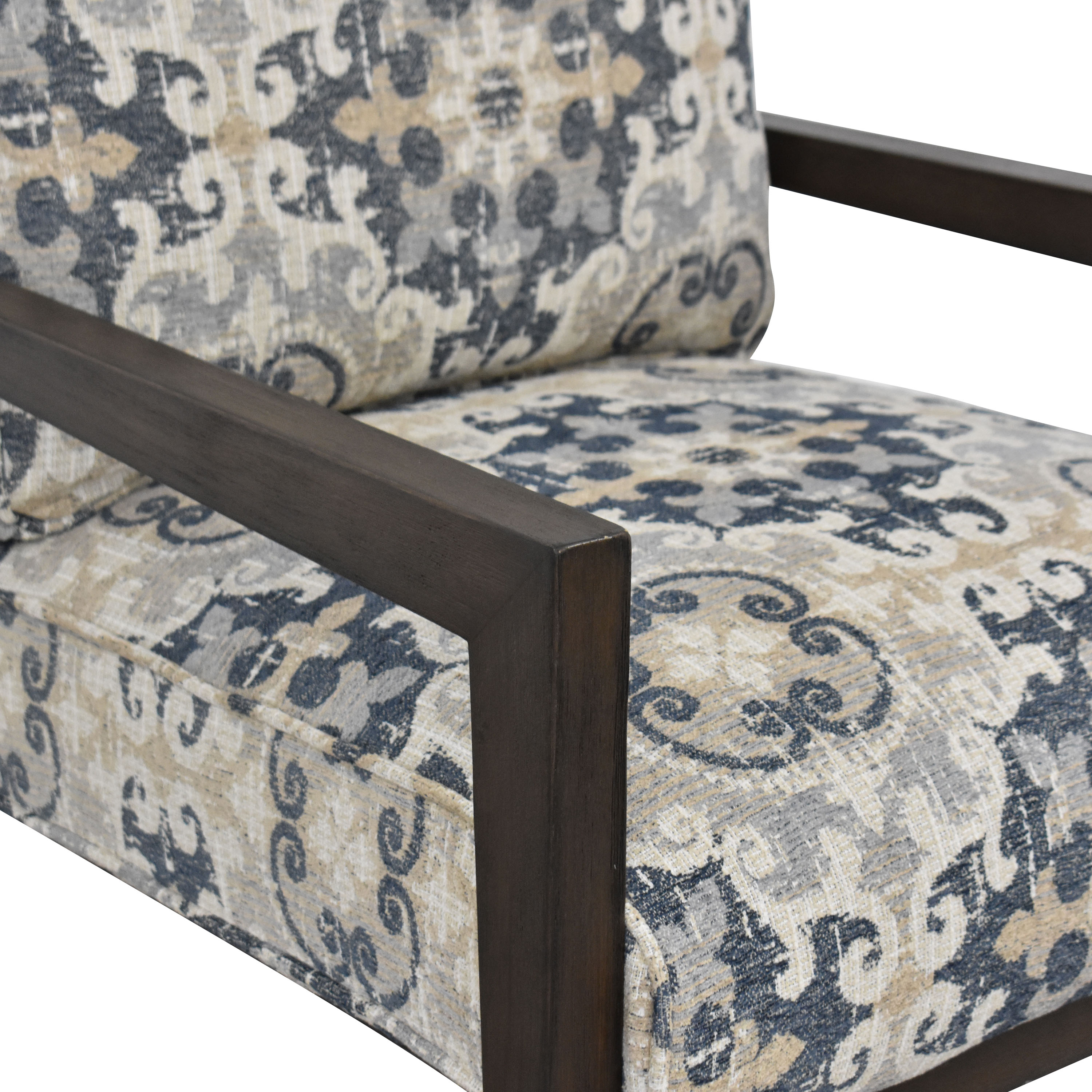 shop Raymour & Flanigan Cushioned Accent Chair Raymour & Flanigan Accent Chairs