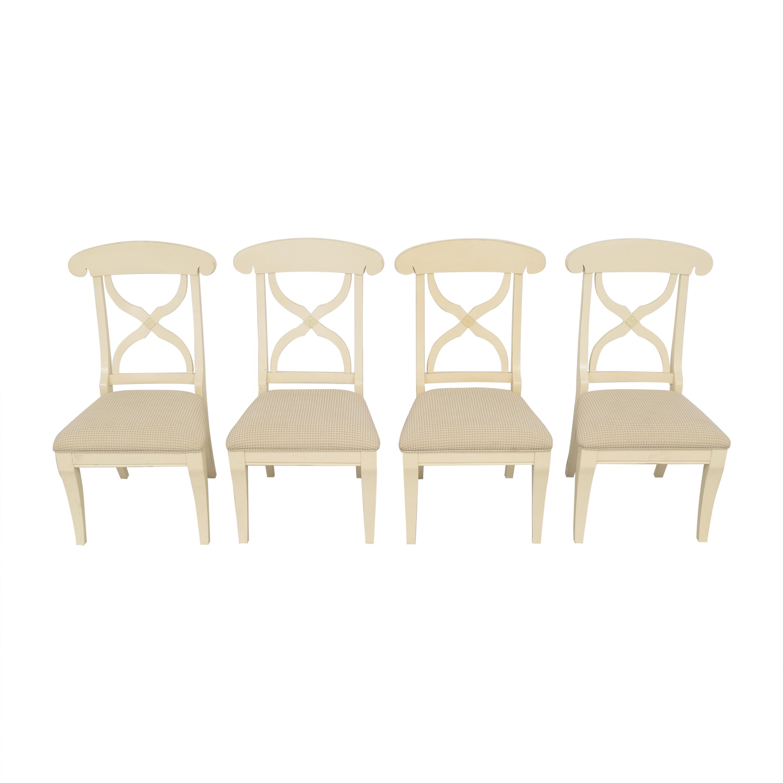 American Furniture Warehouse American Furniture Warehouse Cross Back Dining Chairs pa