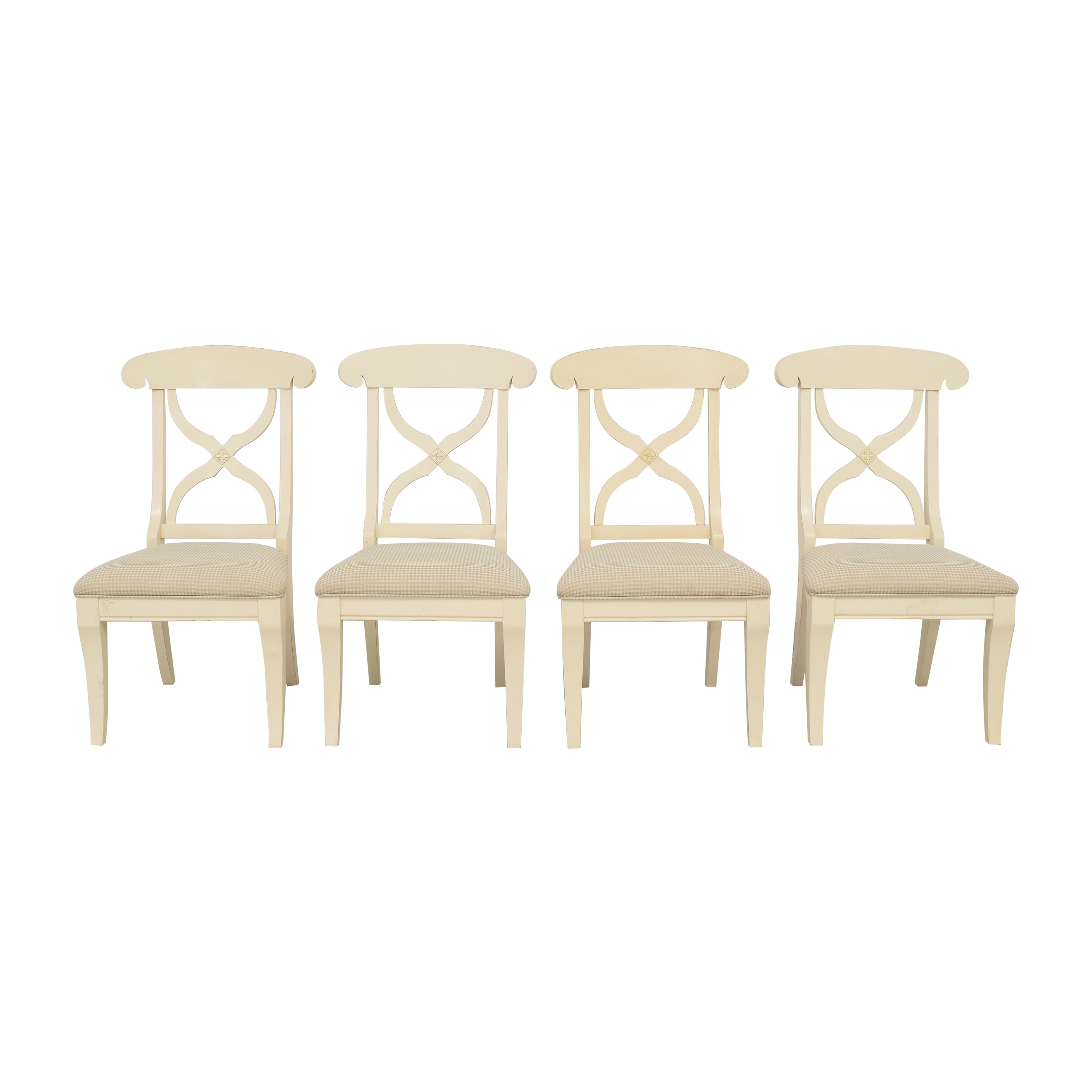 American Furniture Warehouse American Furniture Warehouse Cross Back Dining Chairs Chairs