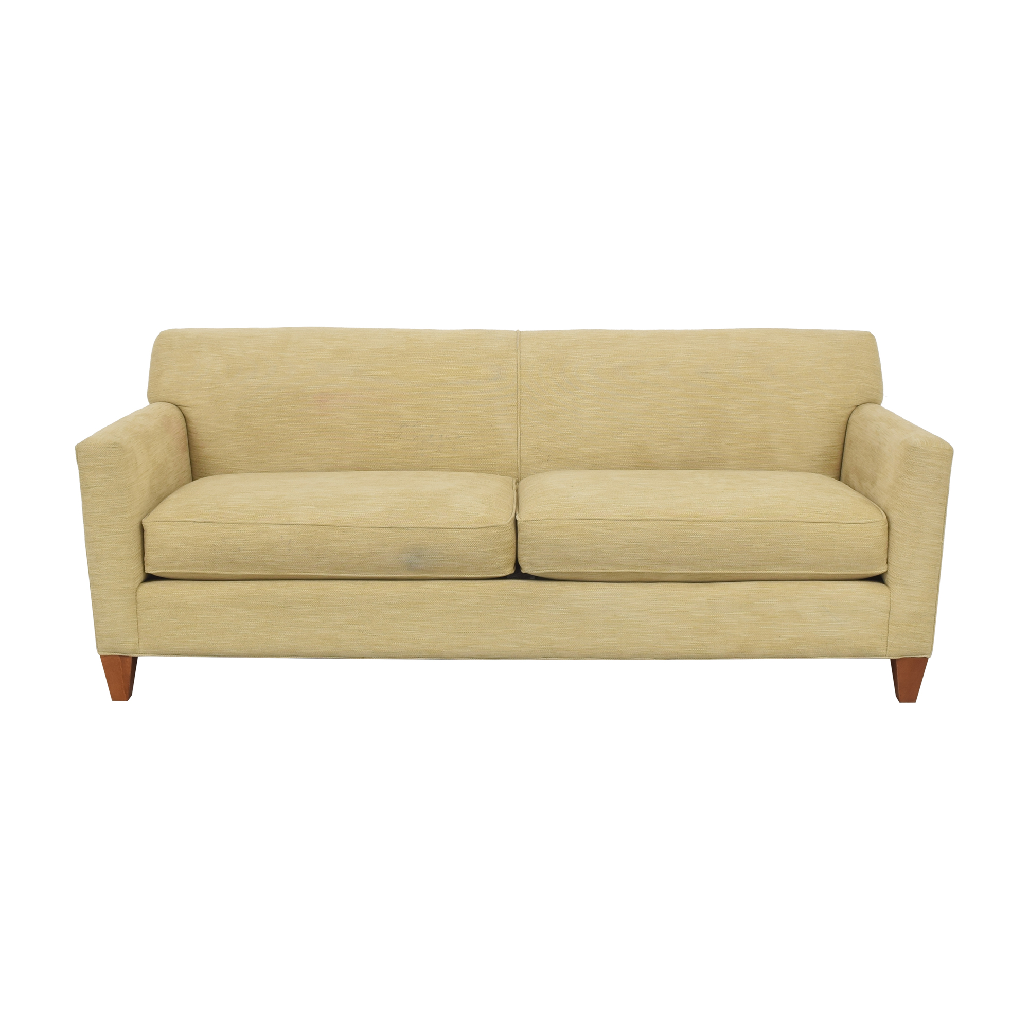 shop Crate & Barrel Crate & Barrel Two Cushion Sofa online
