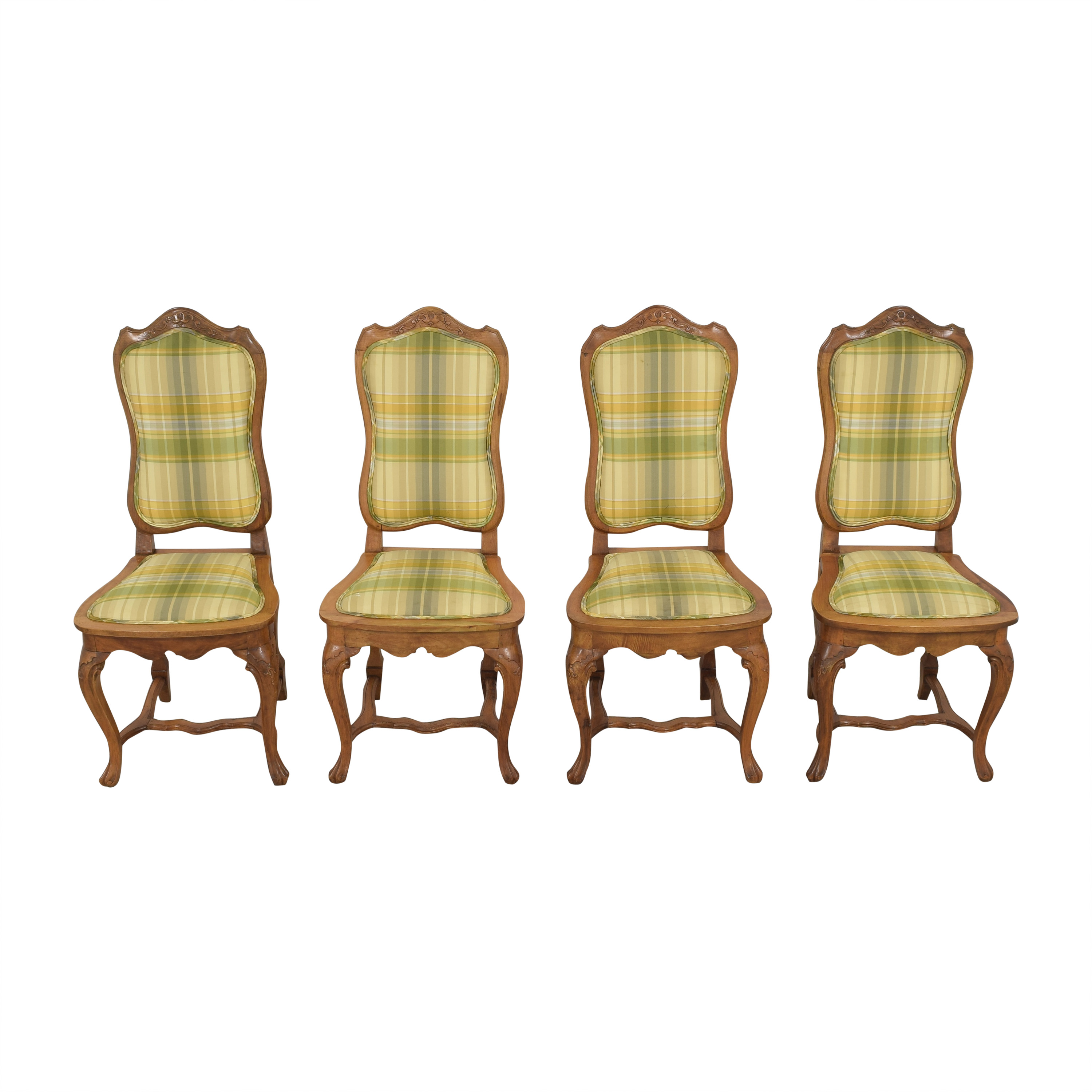 Italian Upholstered Dining Chairs dimensions