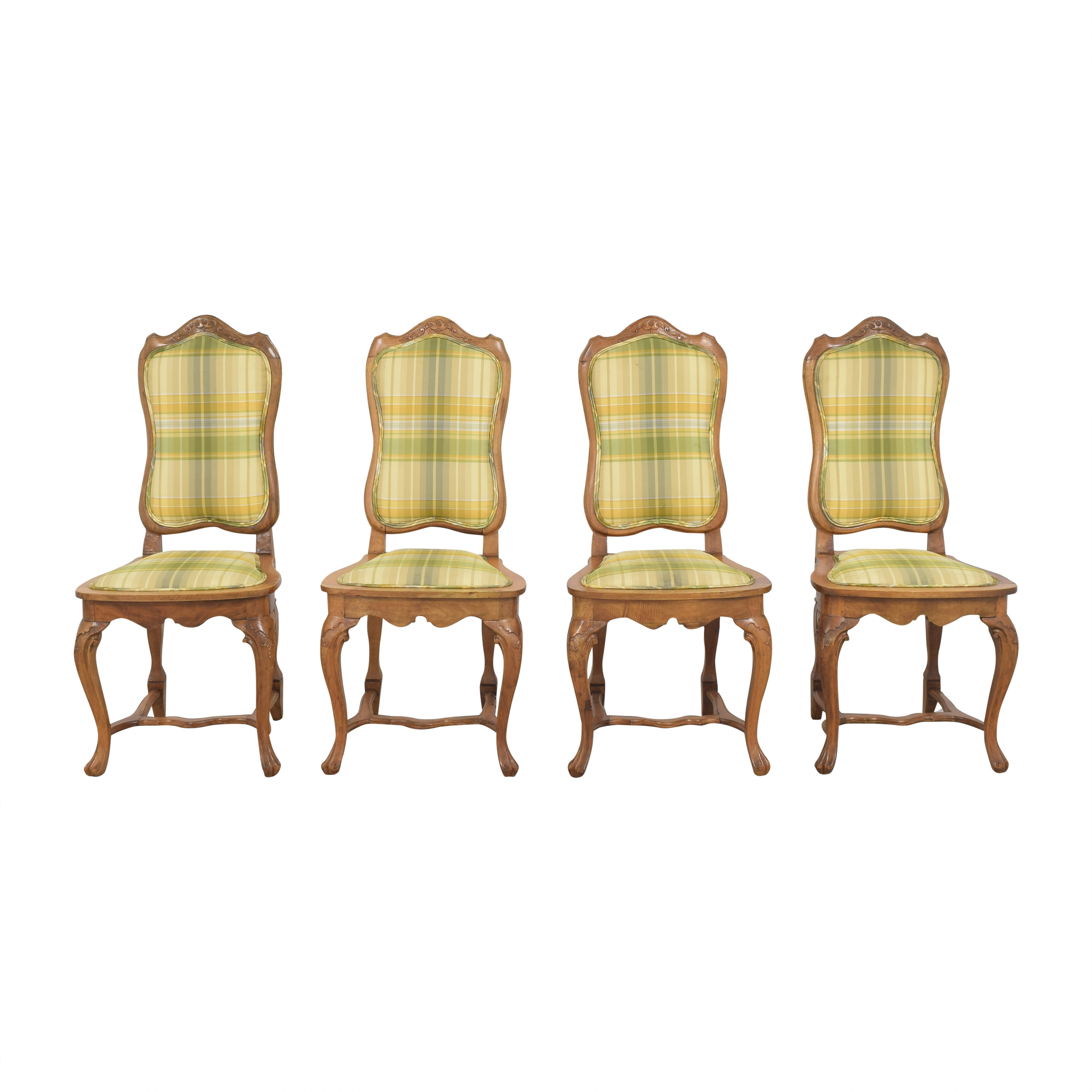 Italian Upholstered Dining Chairs pa