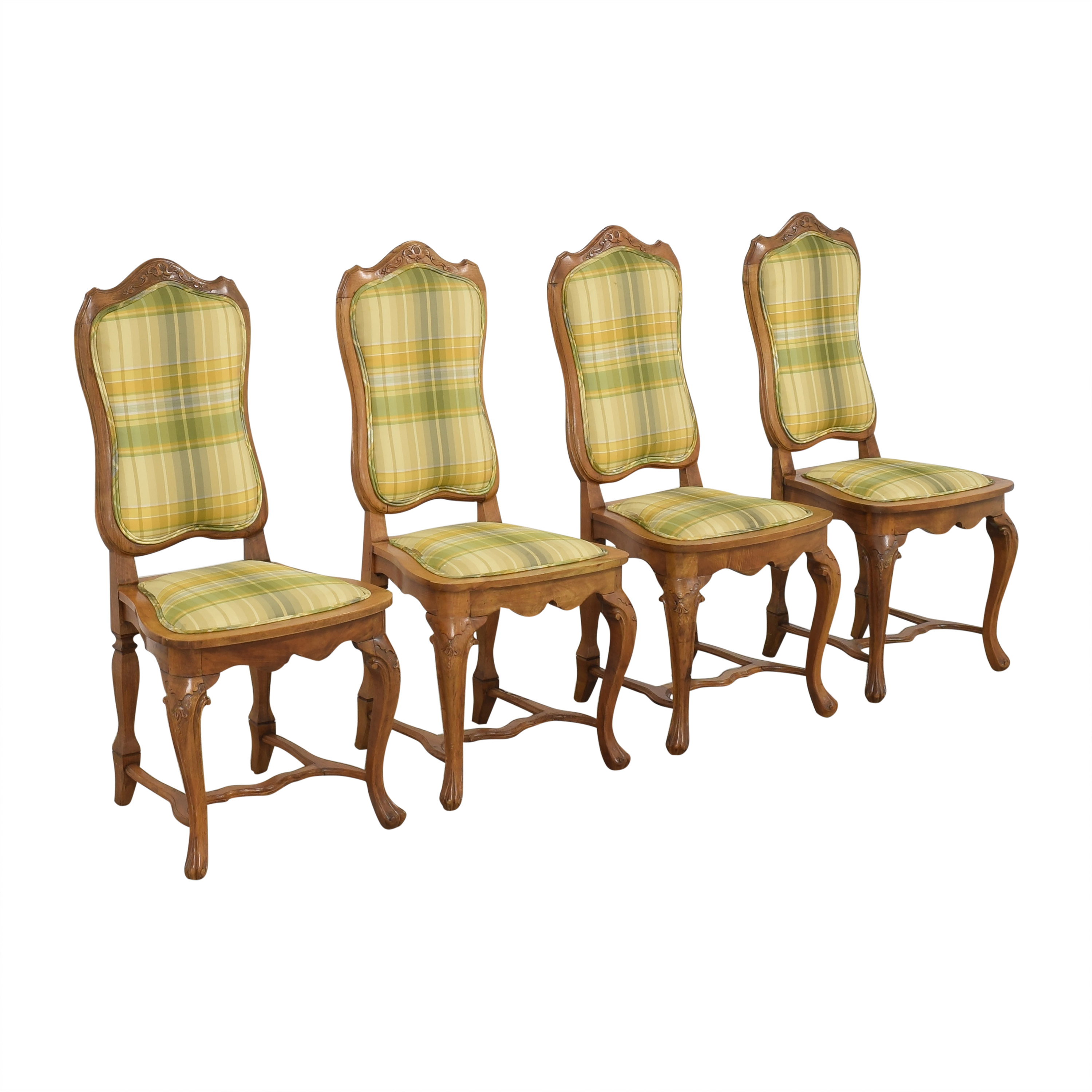 Italian Upholstered Dining Chairs