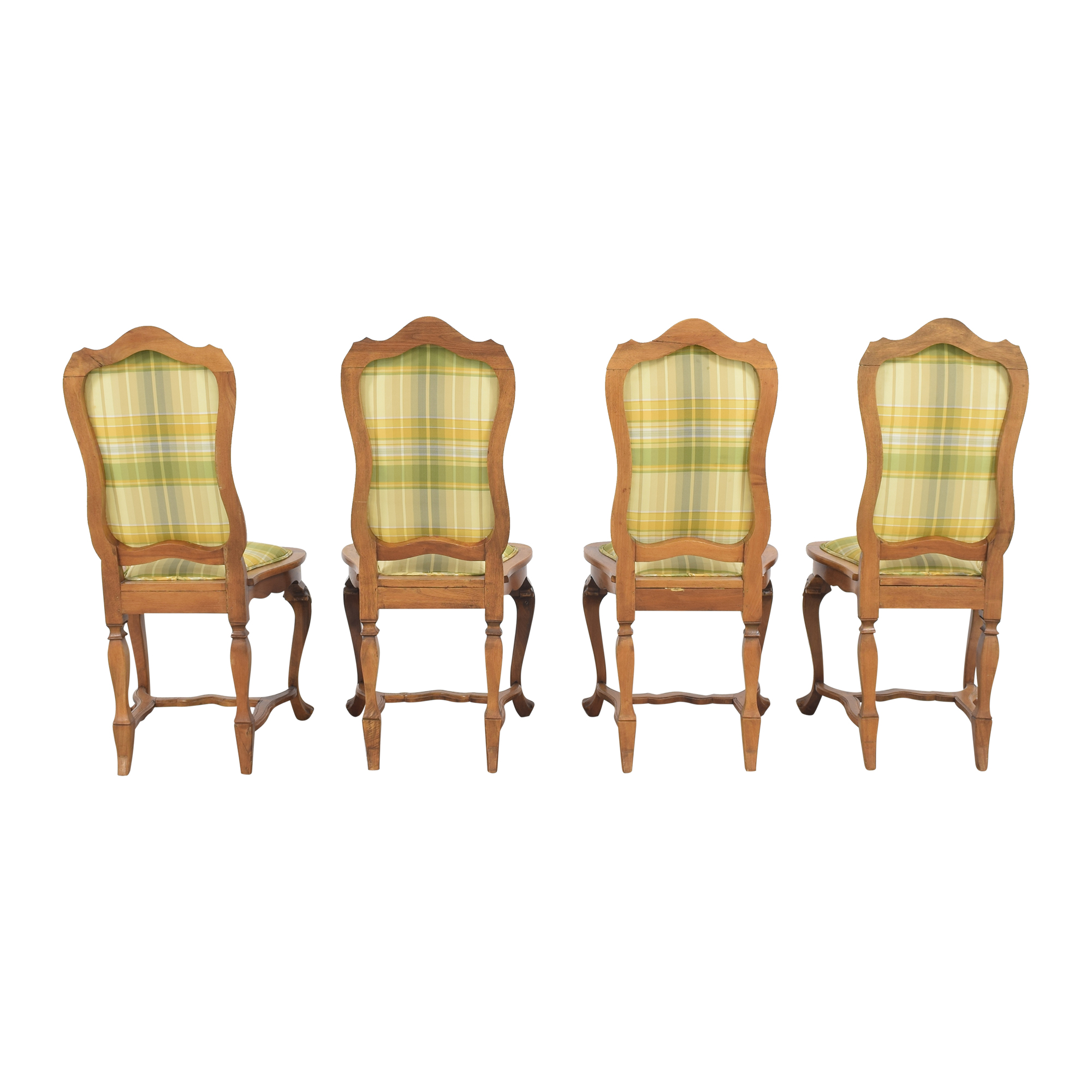Italian Upholstered Dining Chairs on sale