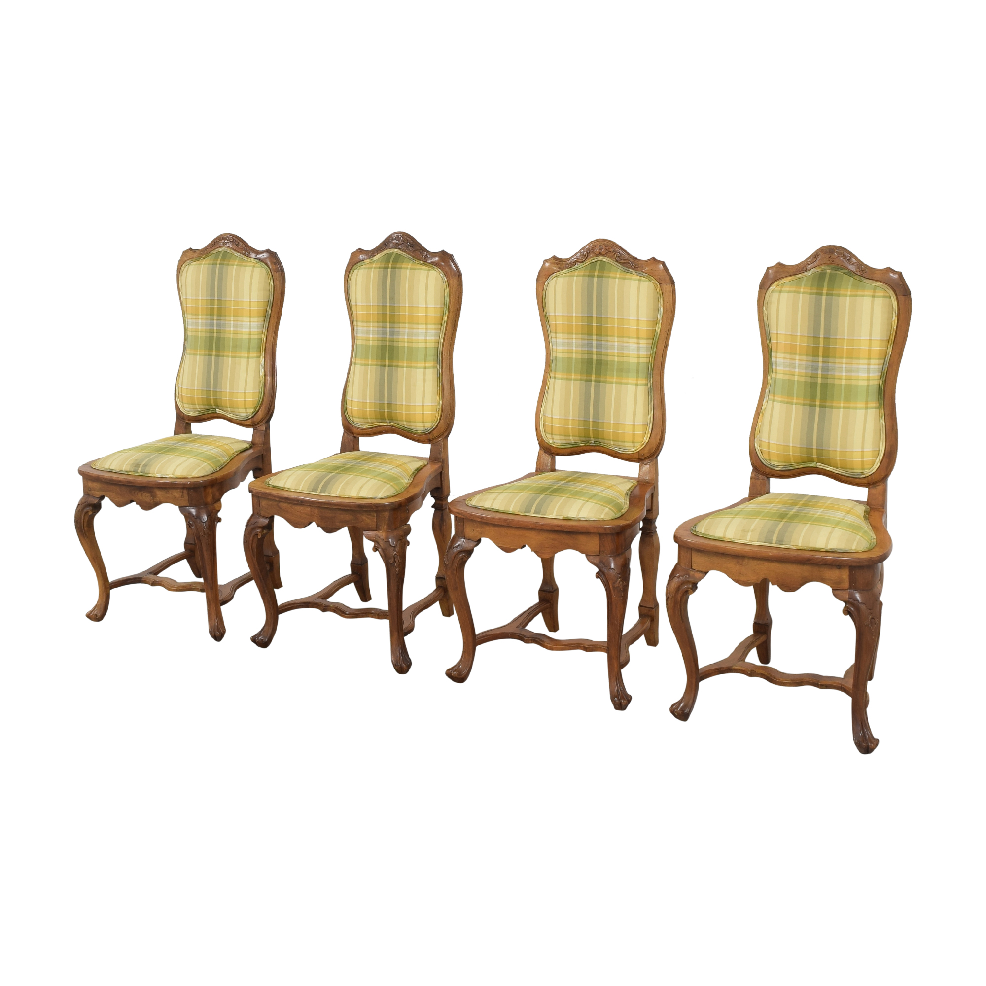 Italian Upholstered Dining Chairs multi