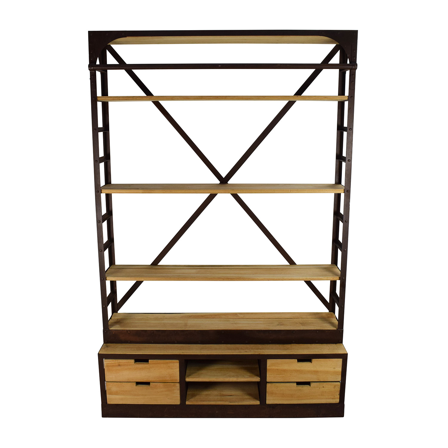 Restoration Hardware Restoration Hardware 1950s Dutch Shipyard Shelving Storage