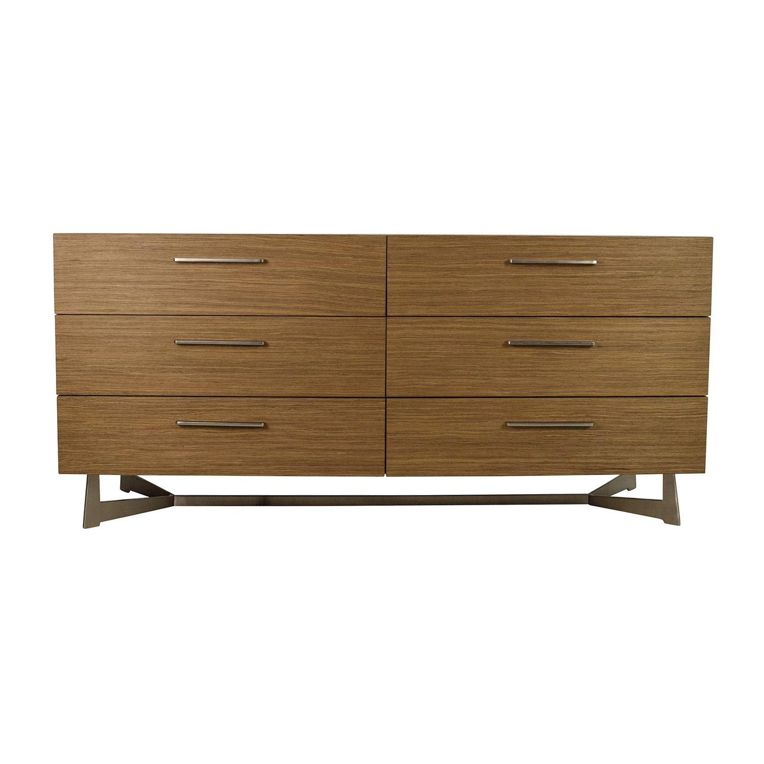 Modloft Modloft Broome Walnut and Concrete Dresser discount