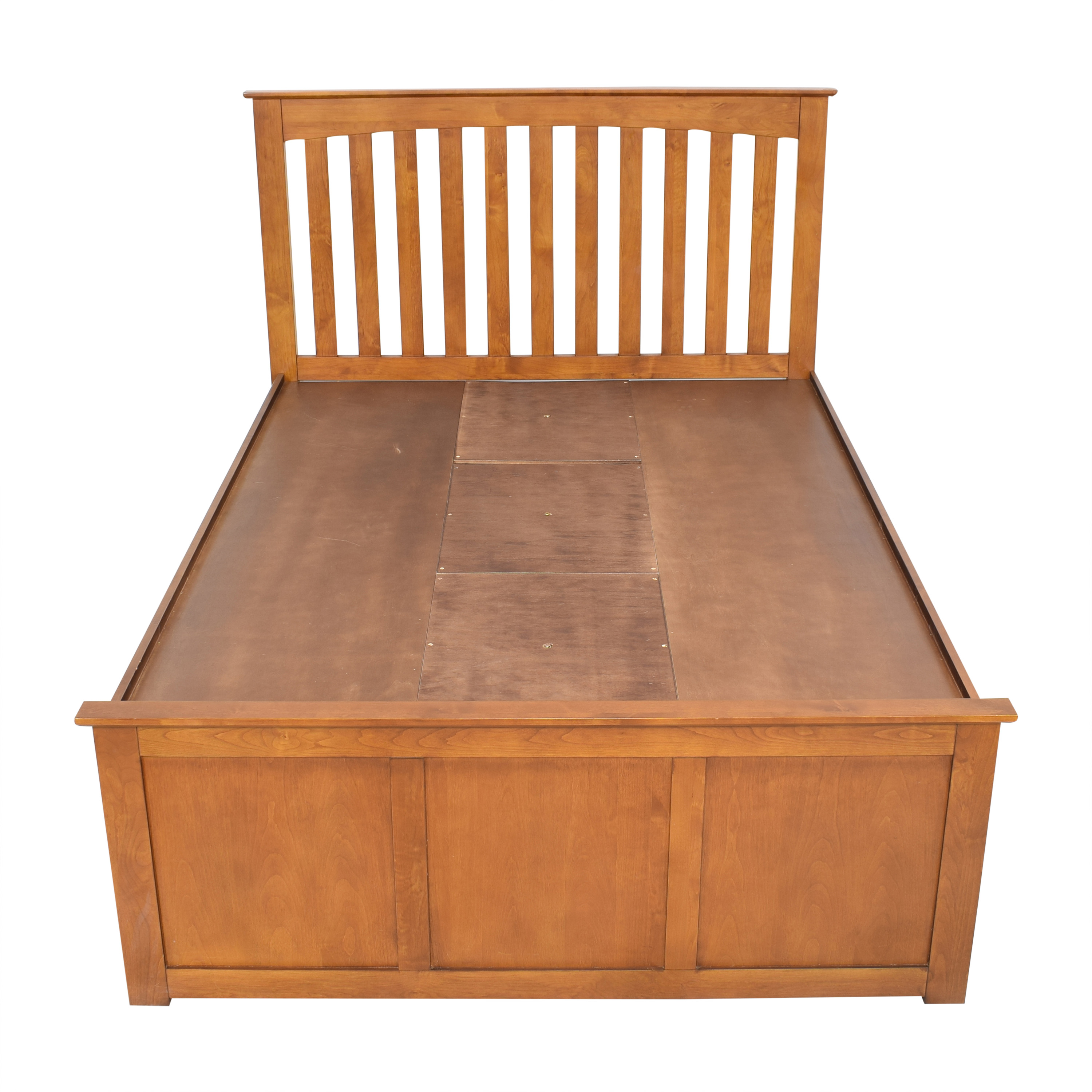 Raymour & Flanigan Raymour & Flanigan Everitt Queen Storage Bed ct