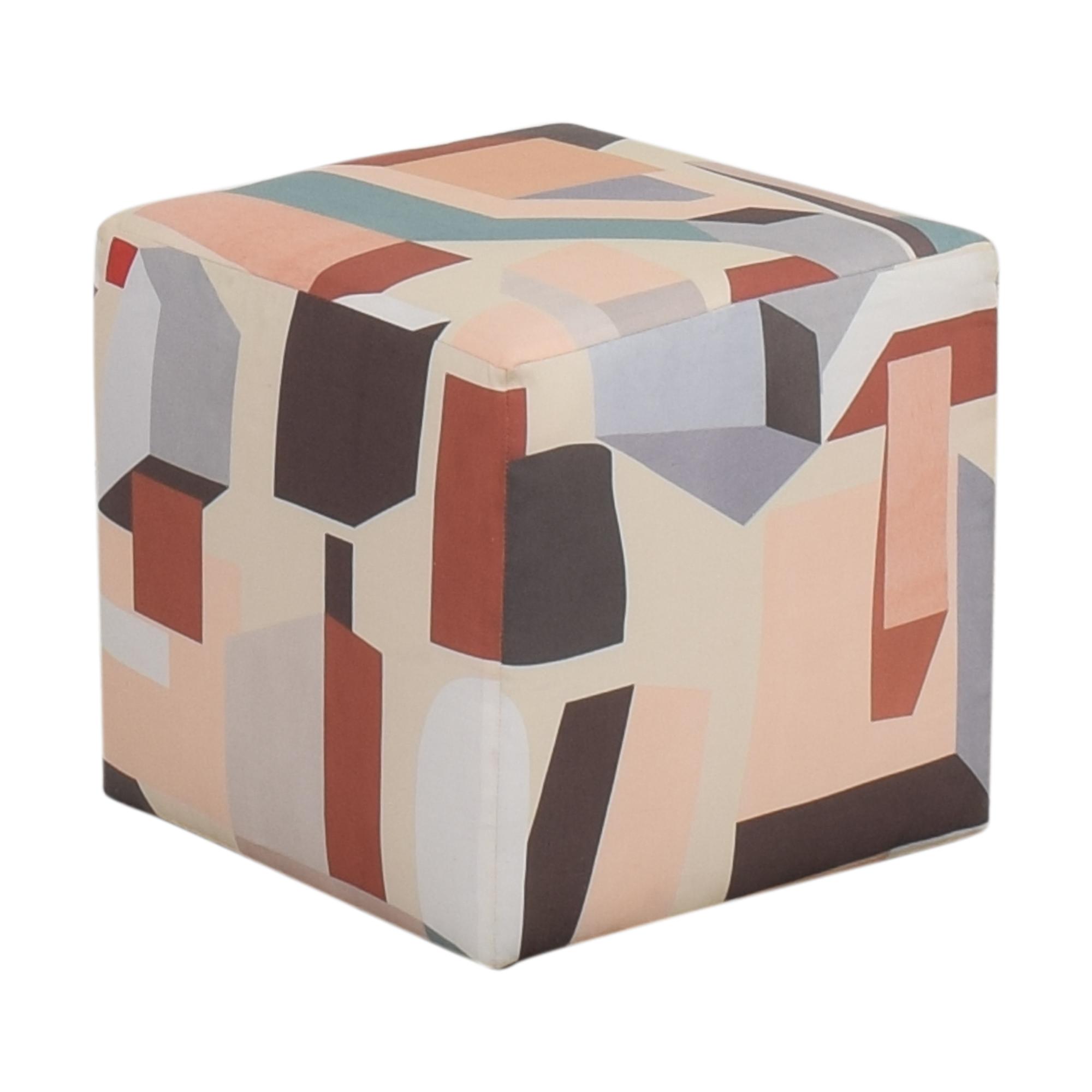 shop The Inside Melio Cube Ottoman online