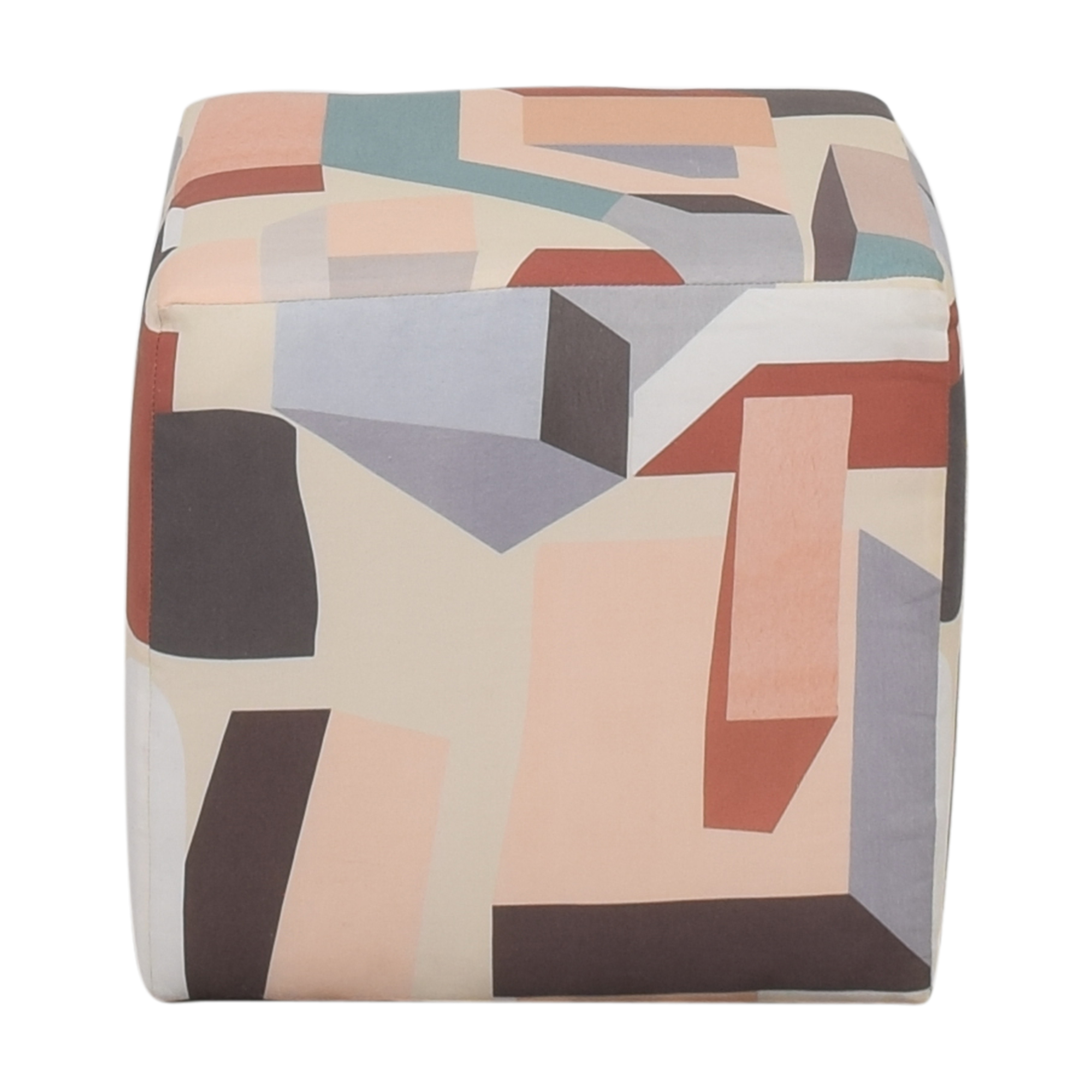 The Inside Melio Cube Ottoman second hand
