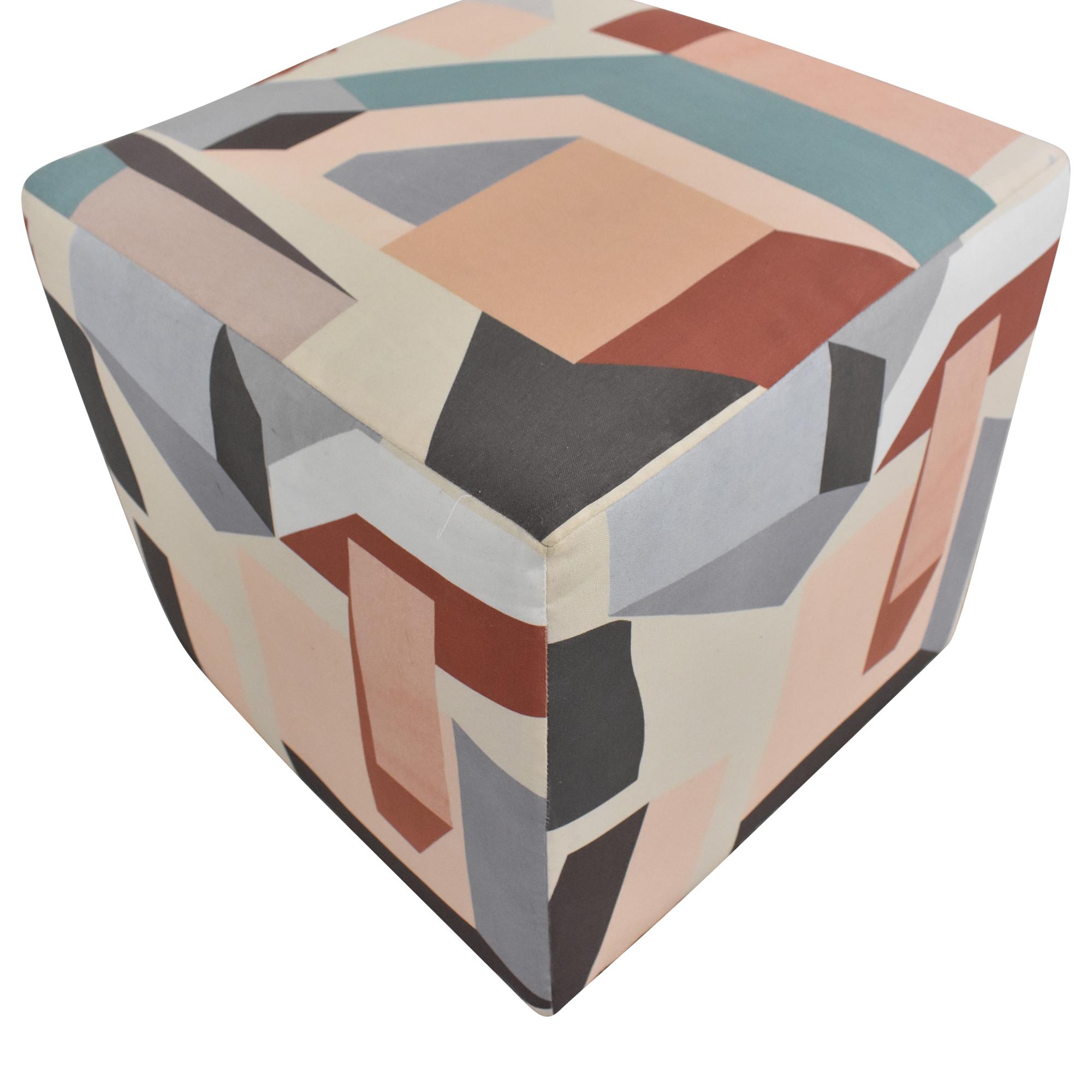 Melio Cube Ottoman / Chairs