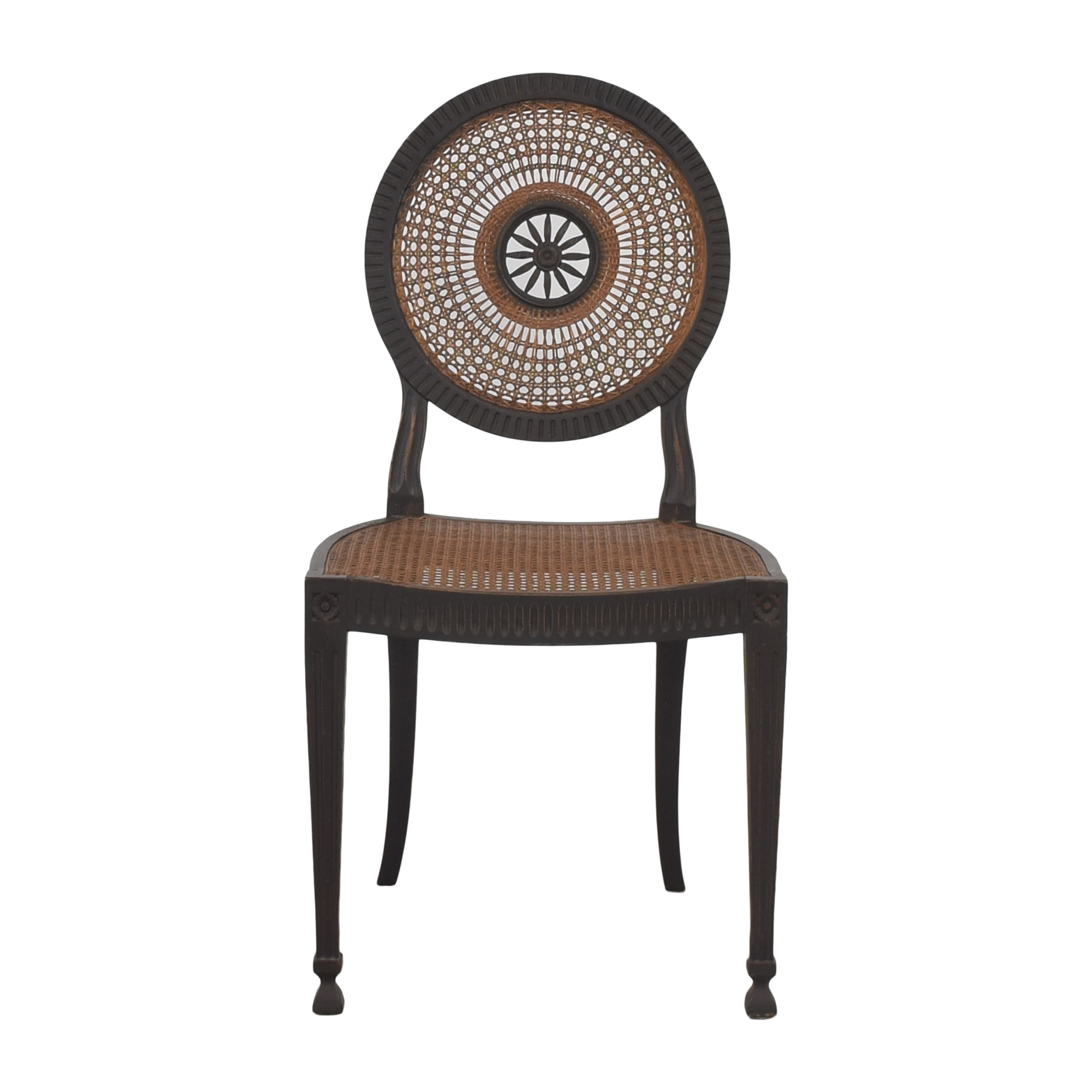Italian Decorative Cane Chair / Dining Chairs