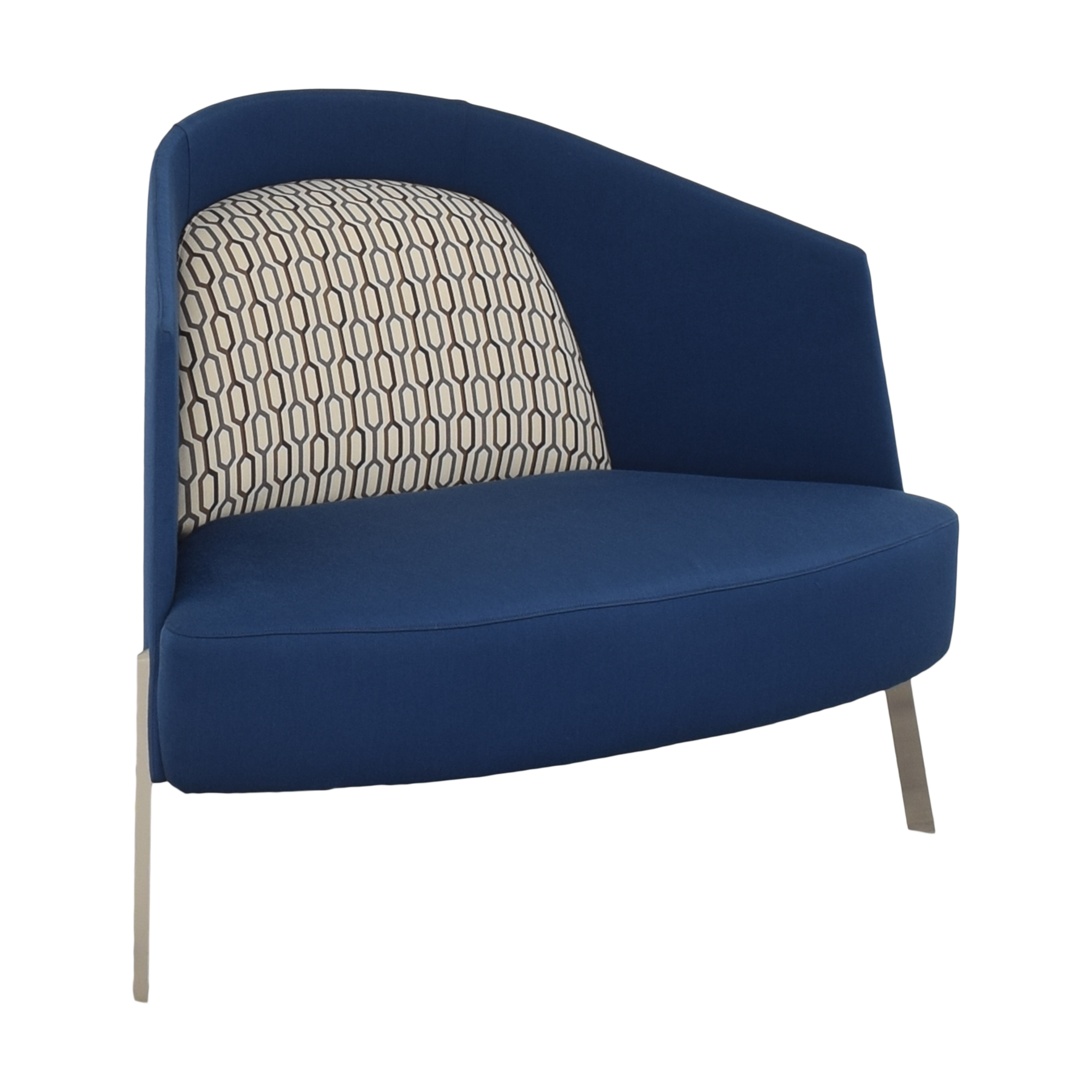 TK Collections Studio TK Fractals Lounge Chair discount