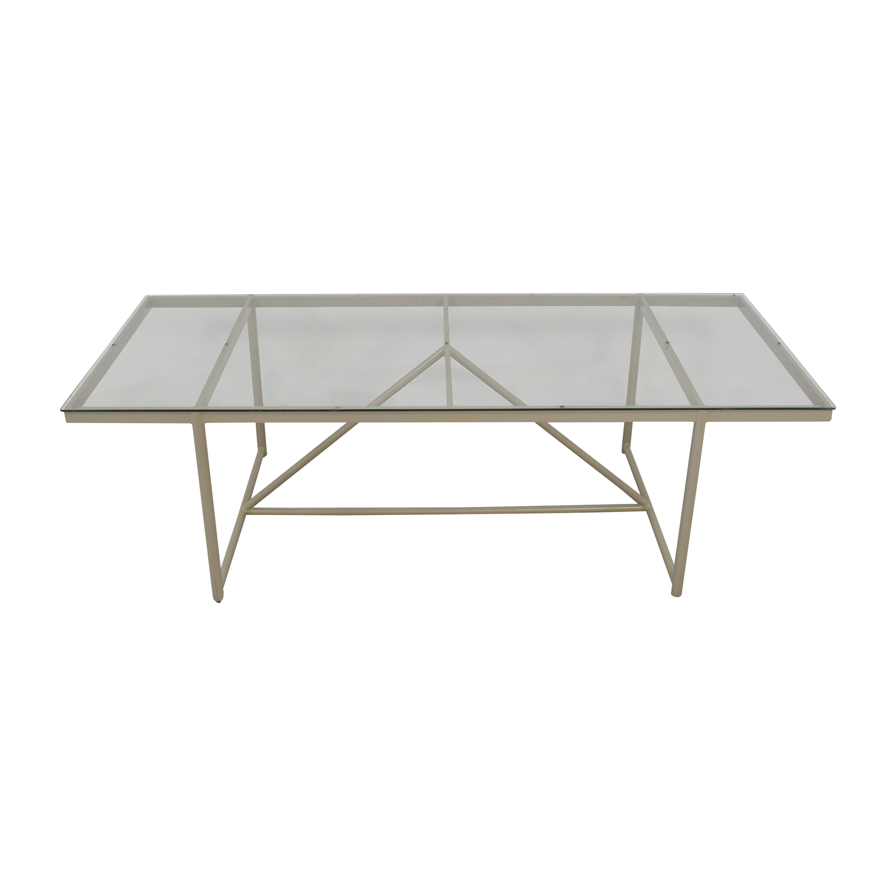 Frontgate Frontgate Enzo Rectangular Dining Table Dinner Tables