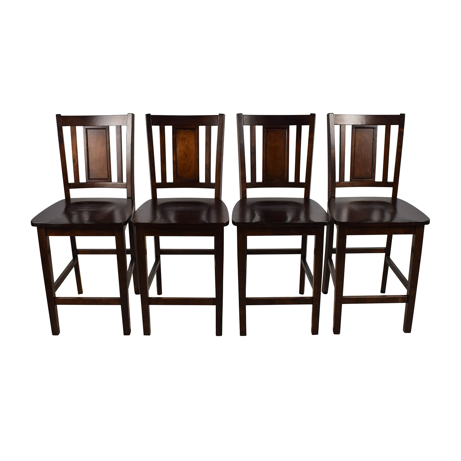 Set of Full Back Bar Stools