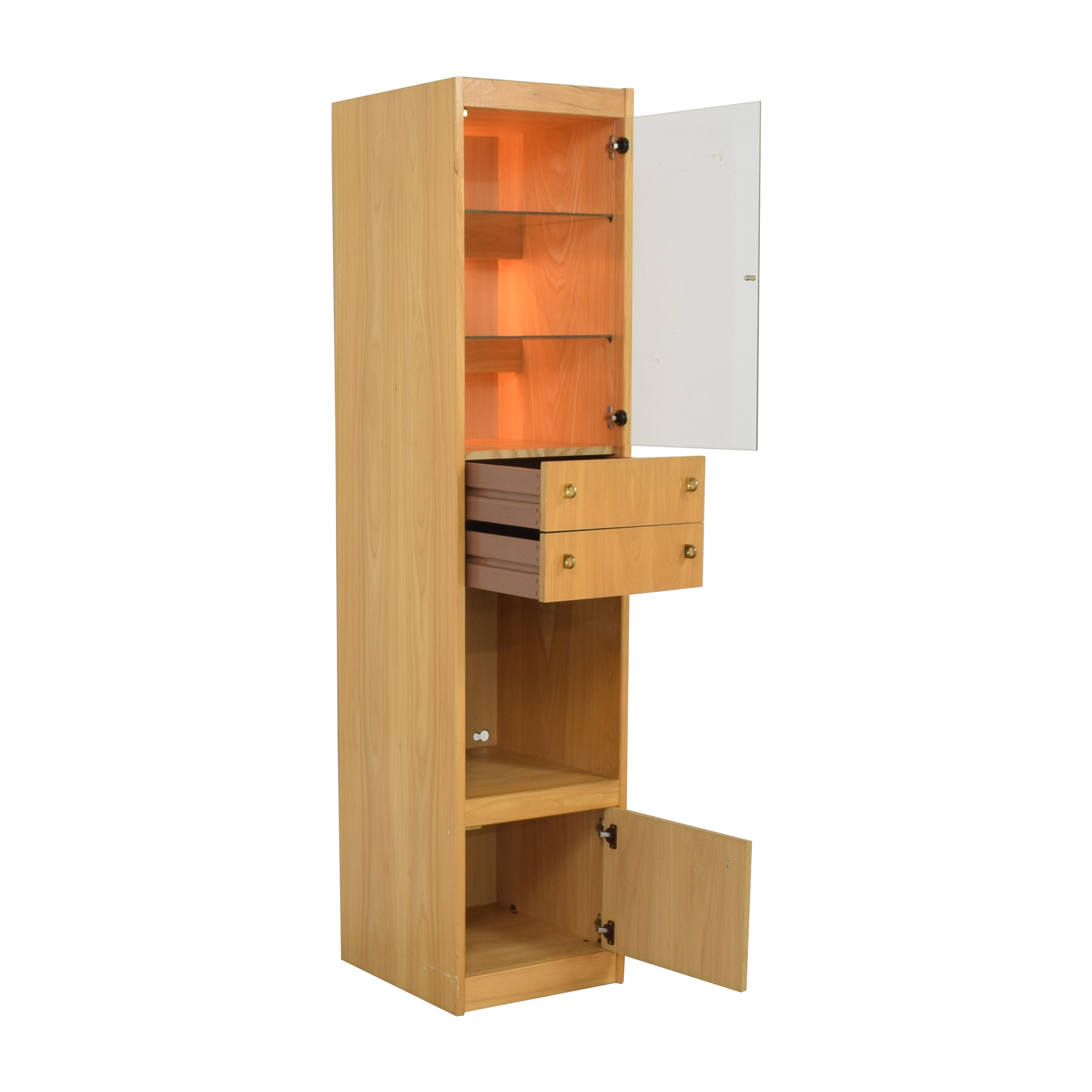 buy Macy's Macy's Tall Lighted Cabinet online